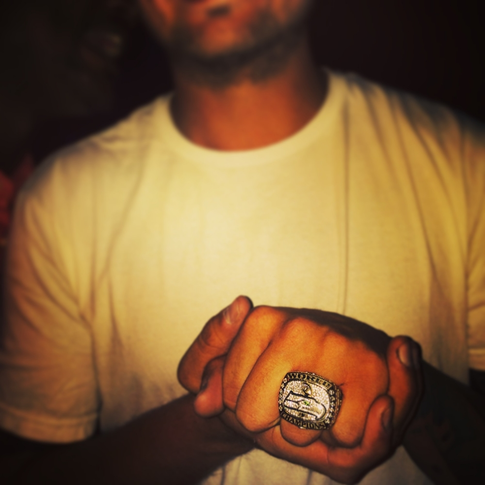 Spencer Ware's Super Bowl Ring