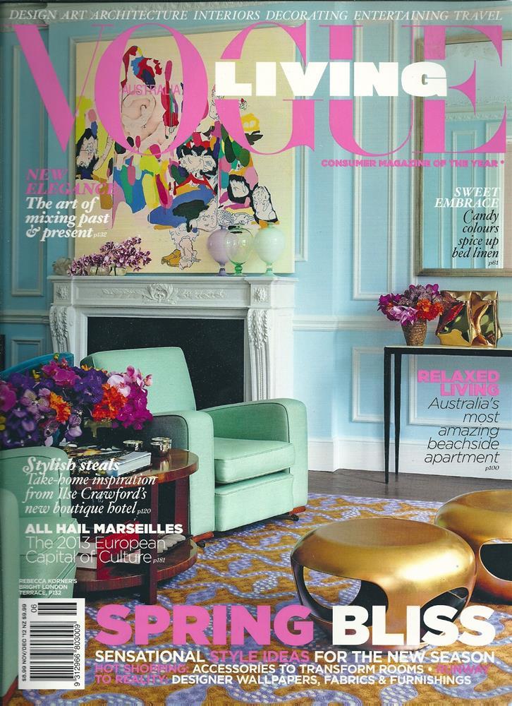 Vogue Living, Nov 2012