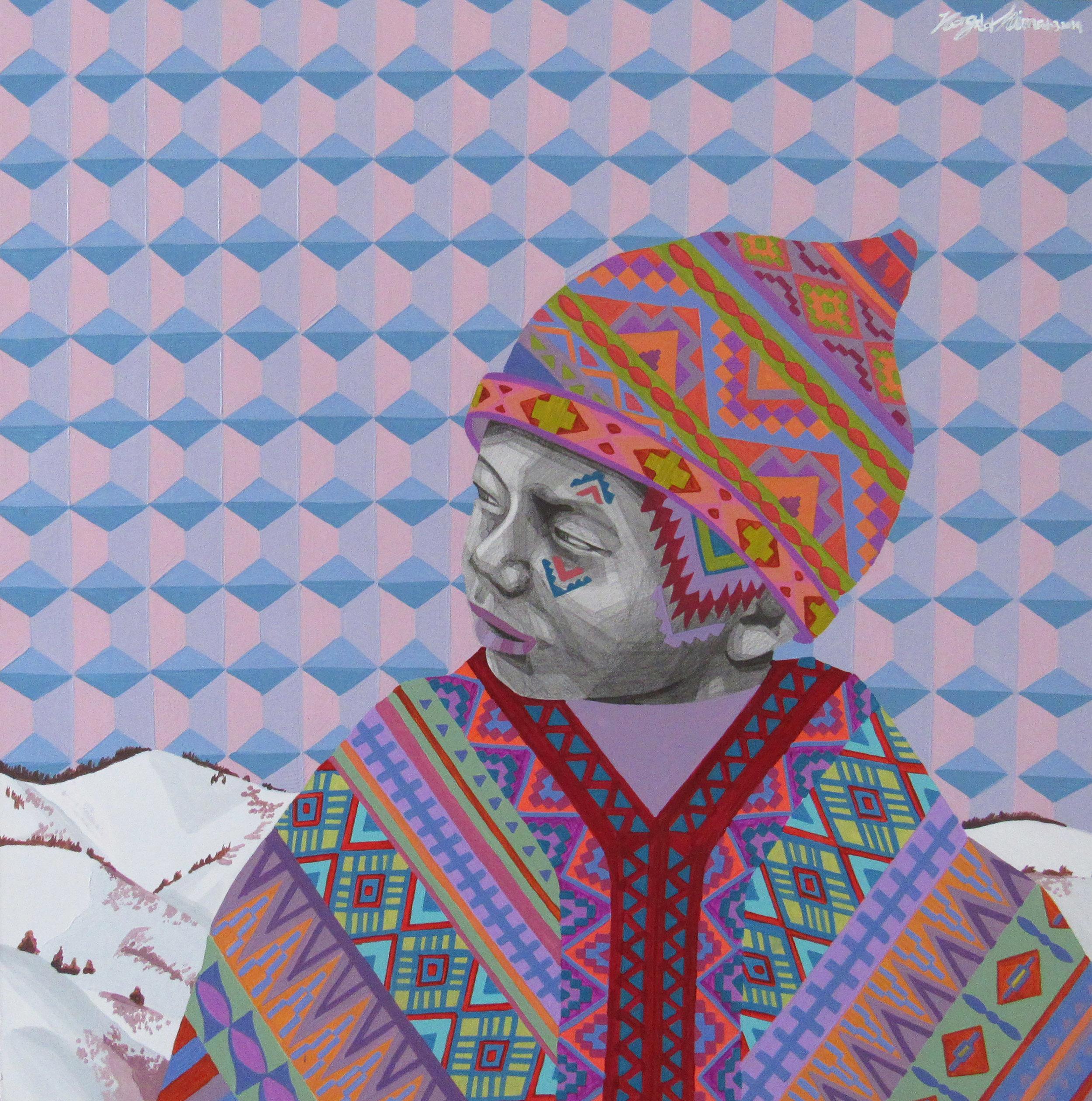 Sold - Colorfreak tribal boy