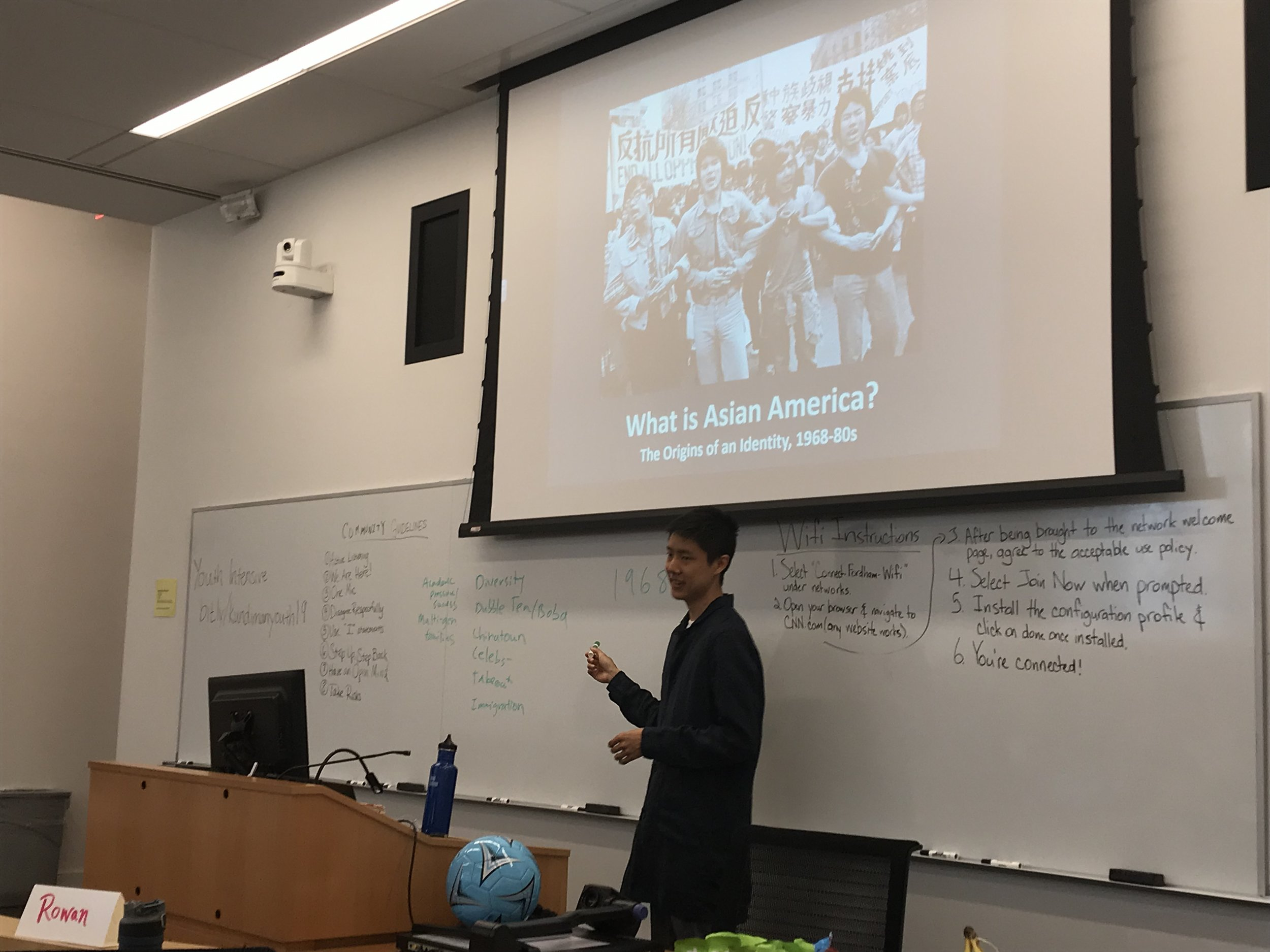 Ryan Lee Wong discusses the origin of Asian American identity.