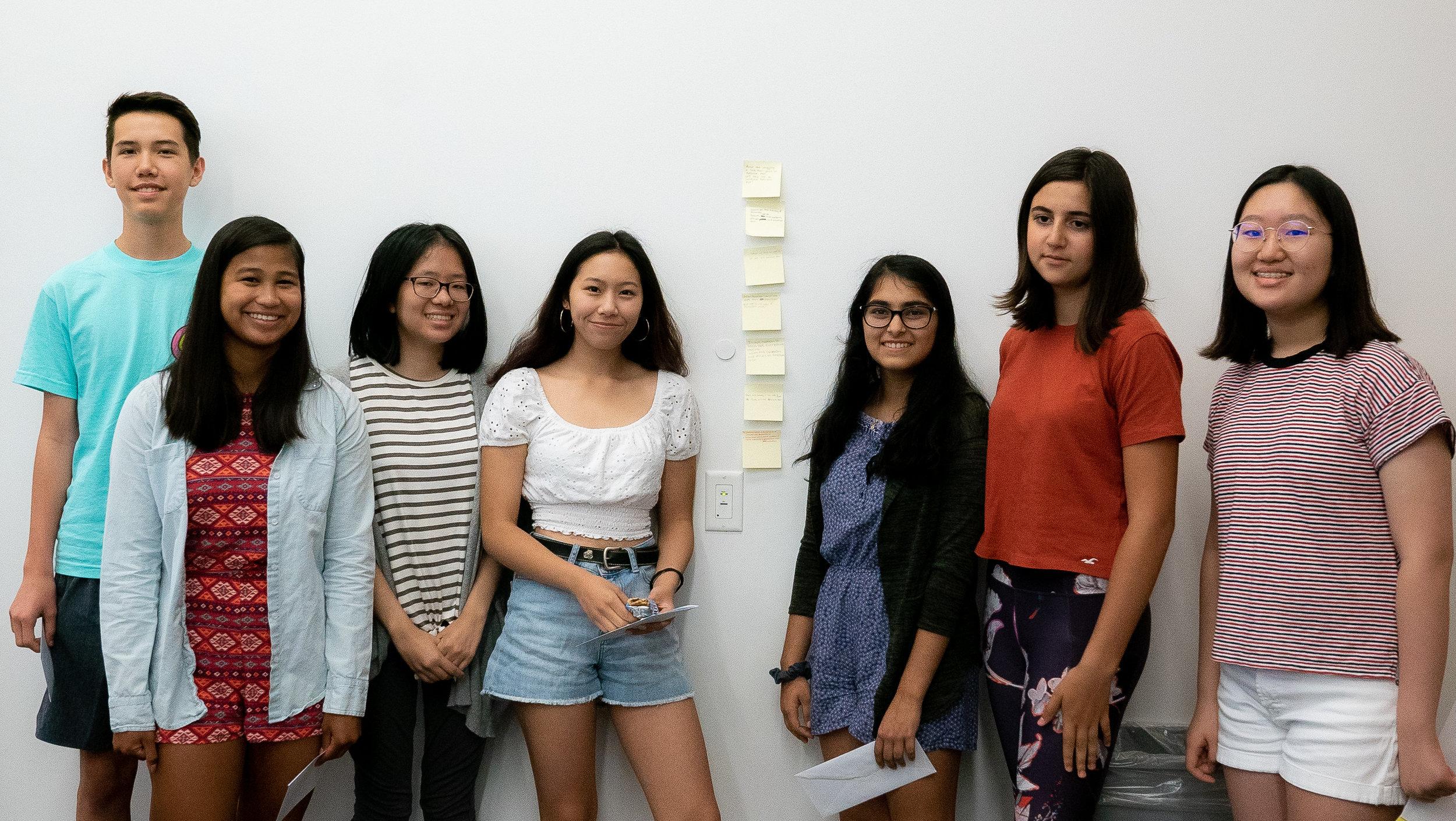 Group 1 and their collaborative ghazal.