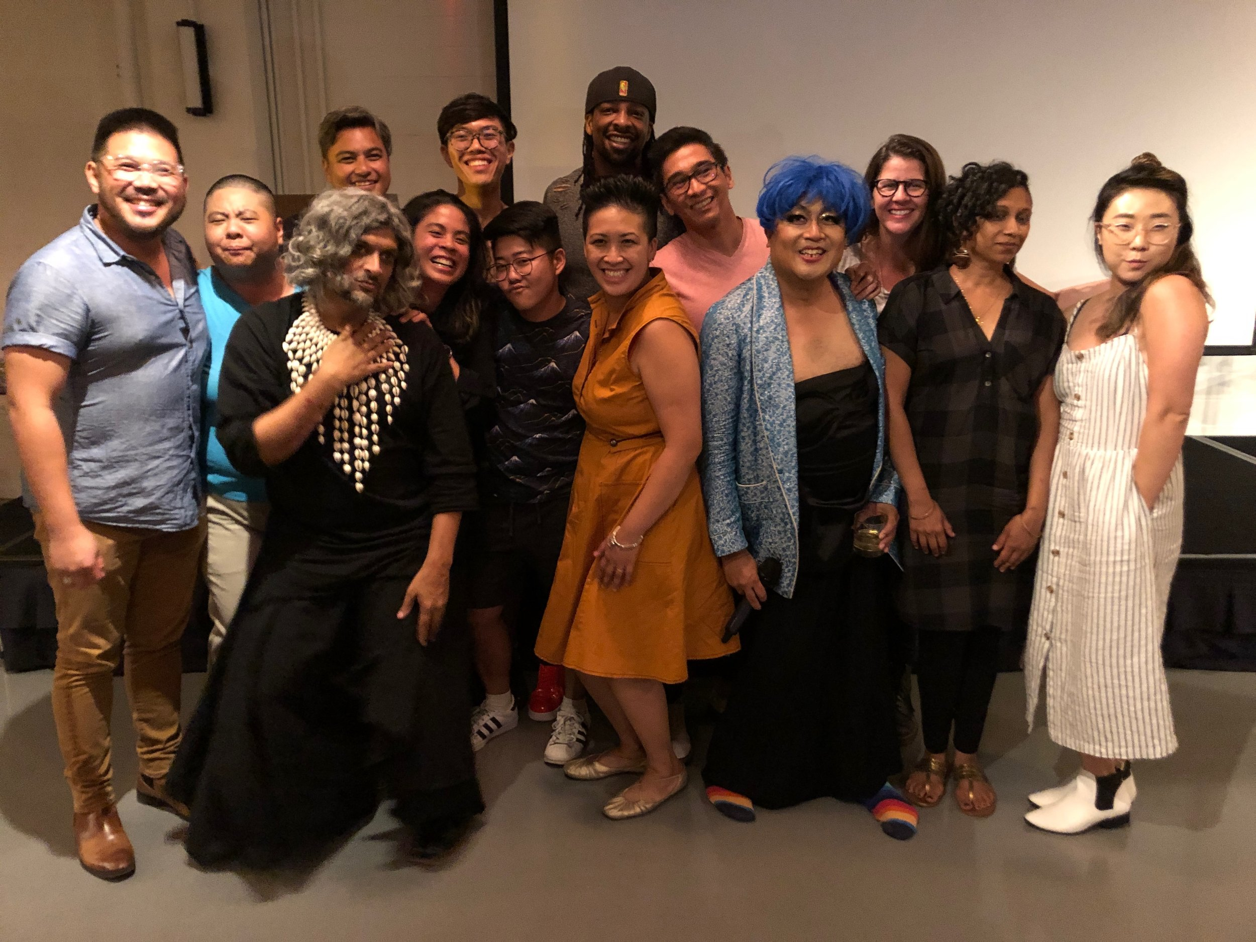 All the singer-songwriters who graced us with the gift of music at Queer Literaoke!