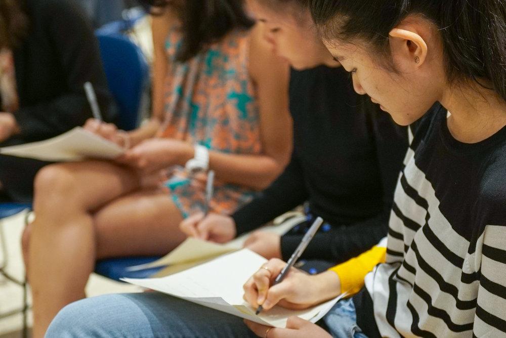 Workshops & writing intensives -