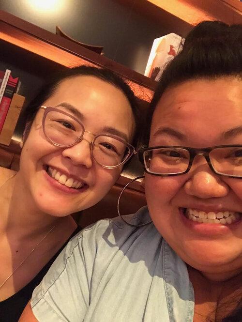 Pik-Shuen Fung & Kimarlee Nguyen.