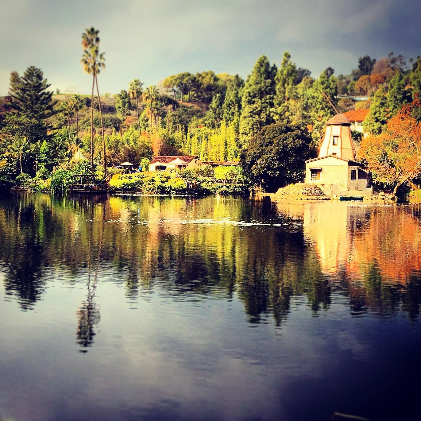 Pacific Palisades Self Realization Shrine Lake
