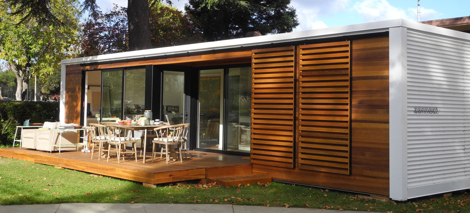 The future of affordable pre-made housing with smaller footprints.