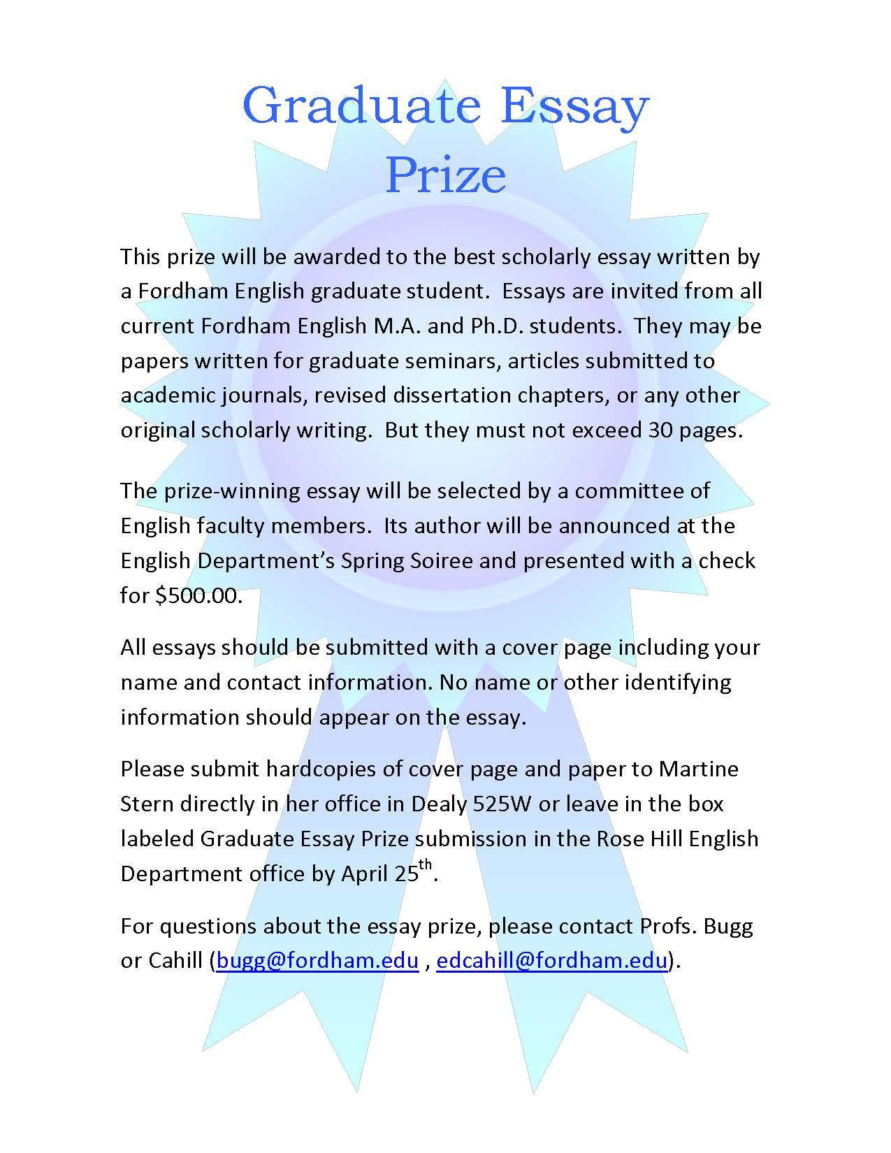 Graduate Essay Prize 2014.jpg