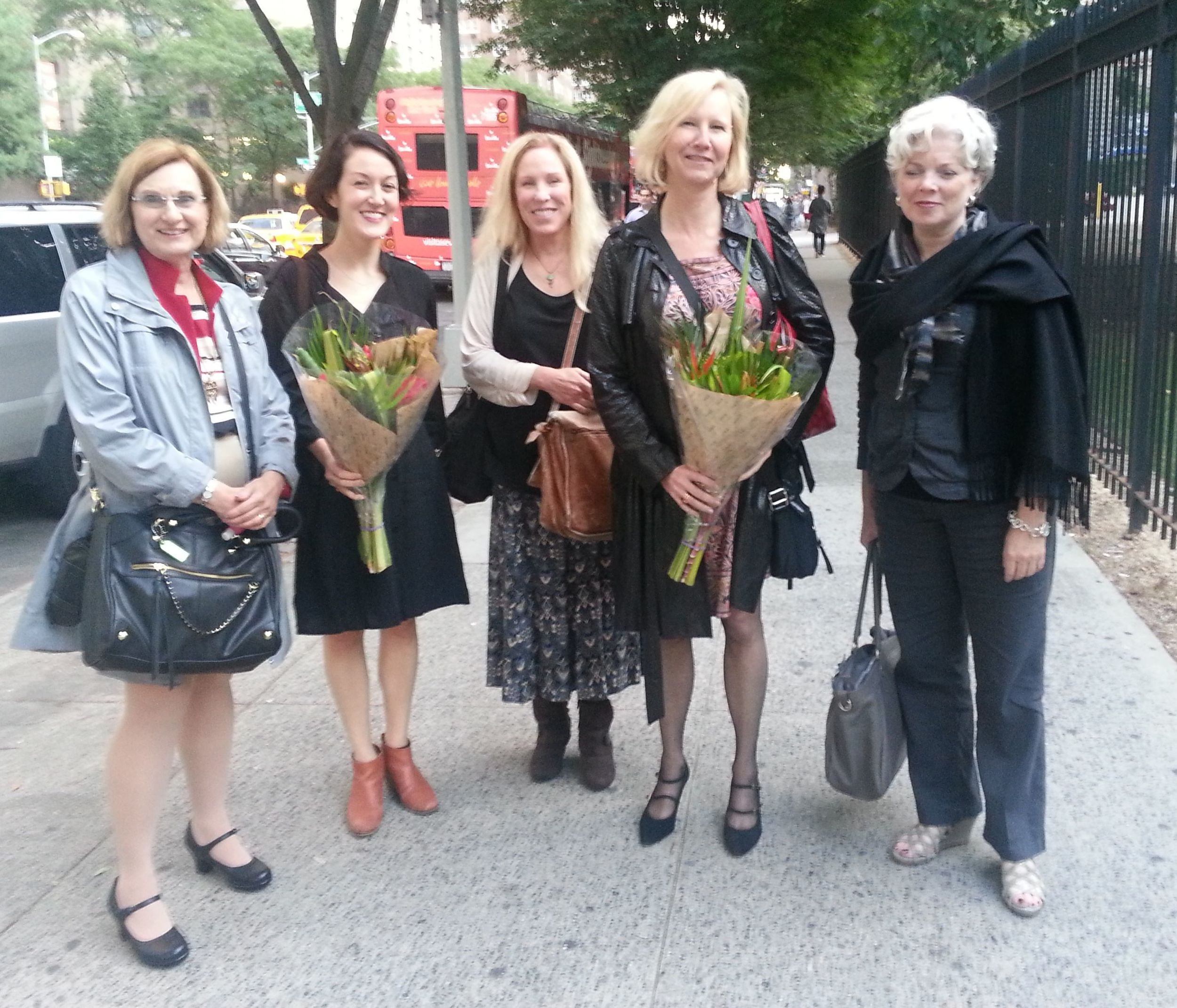 Sharon Marie Carnicke, Shonni Enelow, Cynthia Baron, Mary Luckhurst, and  Rose Malague