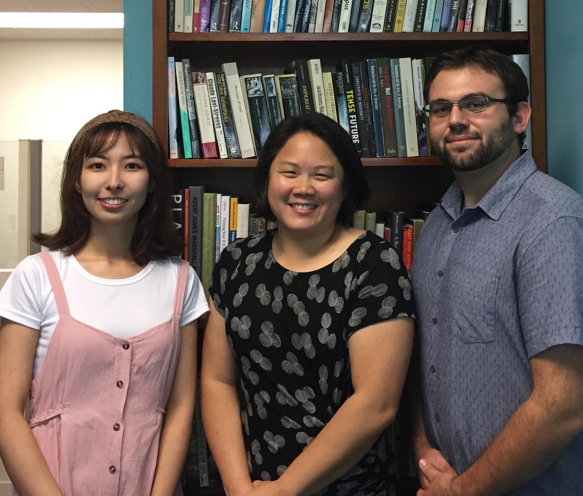 Lina Jiang, Julie Kim, and Stephen Fragano