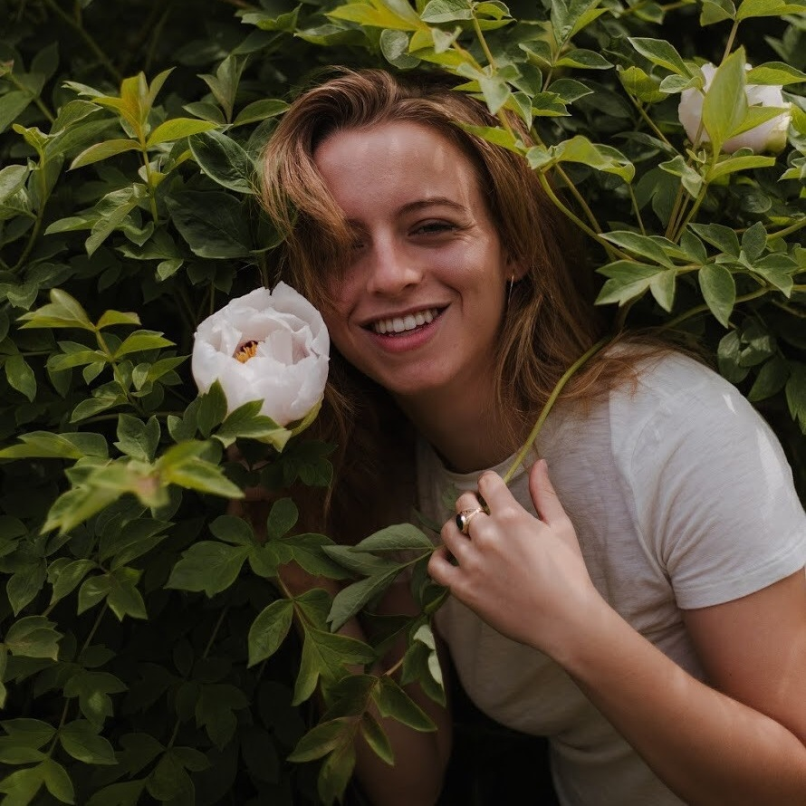 """Julia Gagliardi - Marketing & Publicity Chair""""My name is JG and I love being outdoors.In this issue, I wrote to be self-possessed and self-assured."""""""