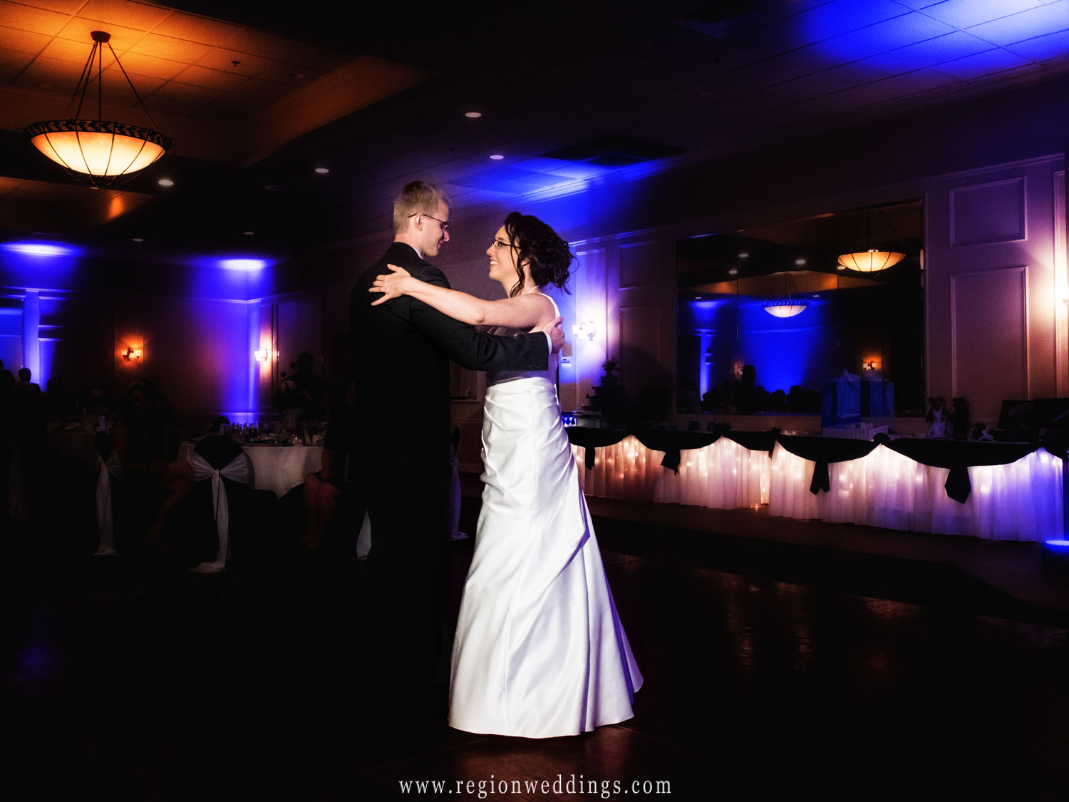 First dance at the Banquets of St. George in Schererville, Indiana