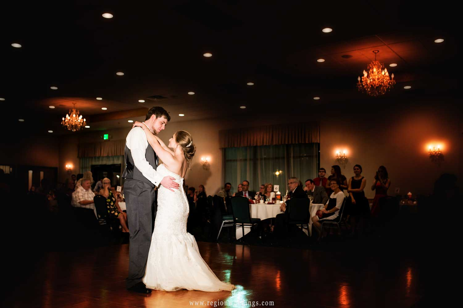 First dance at The Patrician Banquet Center.