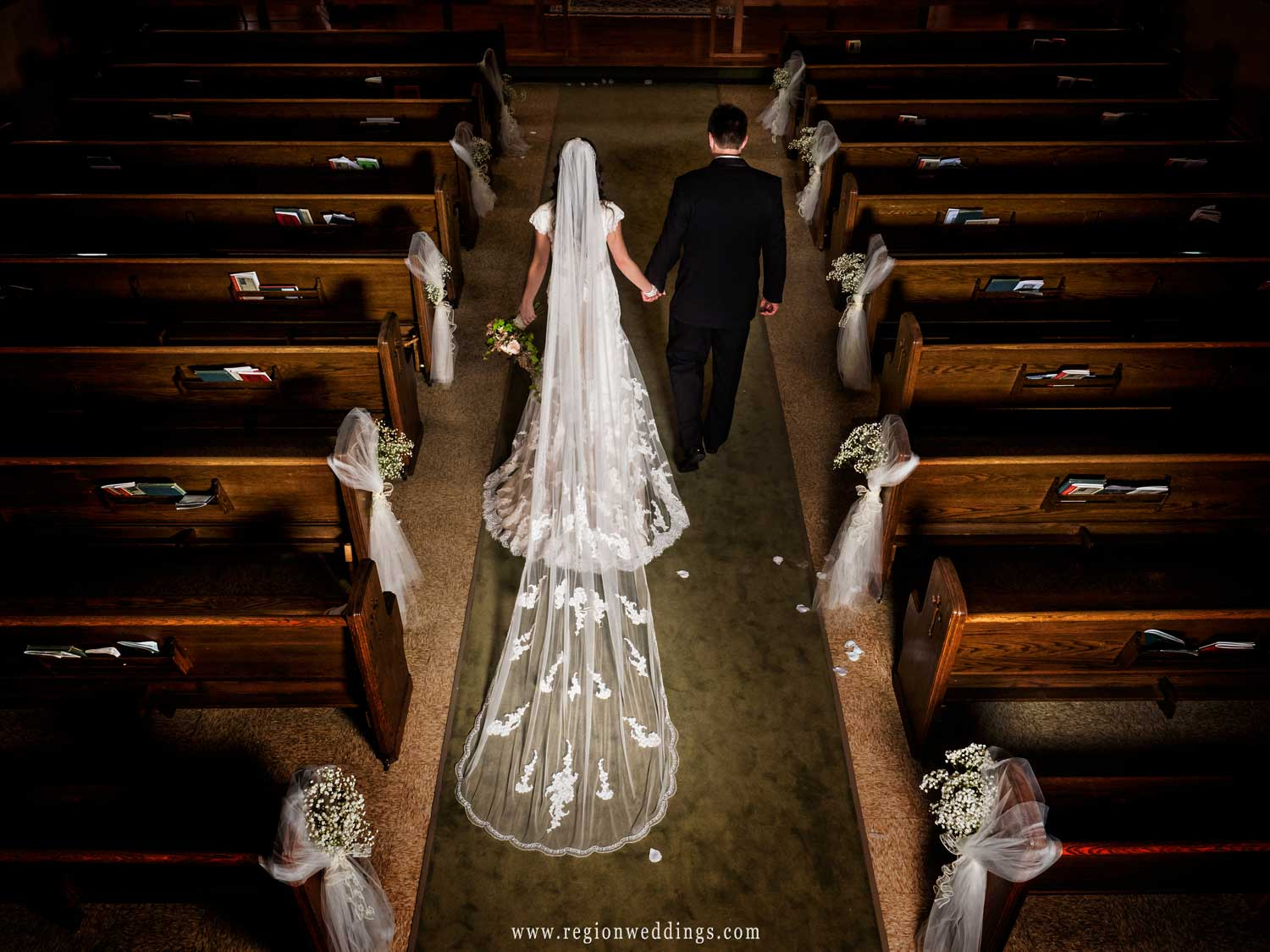 Catholic Wedding Ceremony.Catholic Wedding Ceremony At Immaculate Heart Of Mary Church