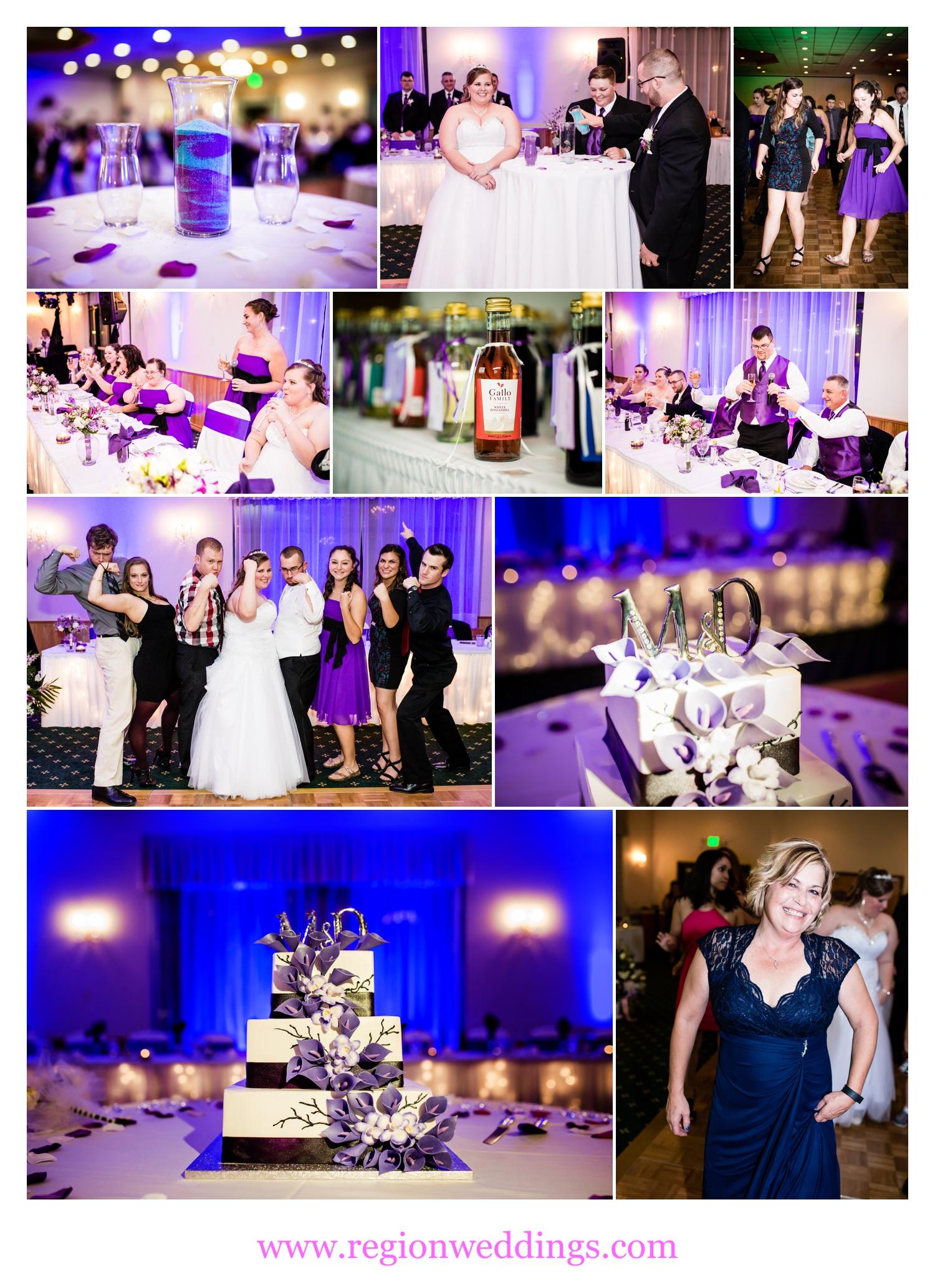 Wedding reception fun at The Patrician Banquets.