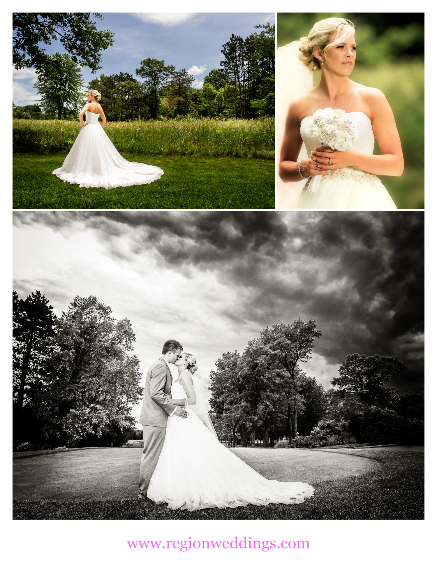 Wedding photos at The Pavilion At Sandy Pines.