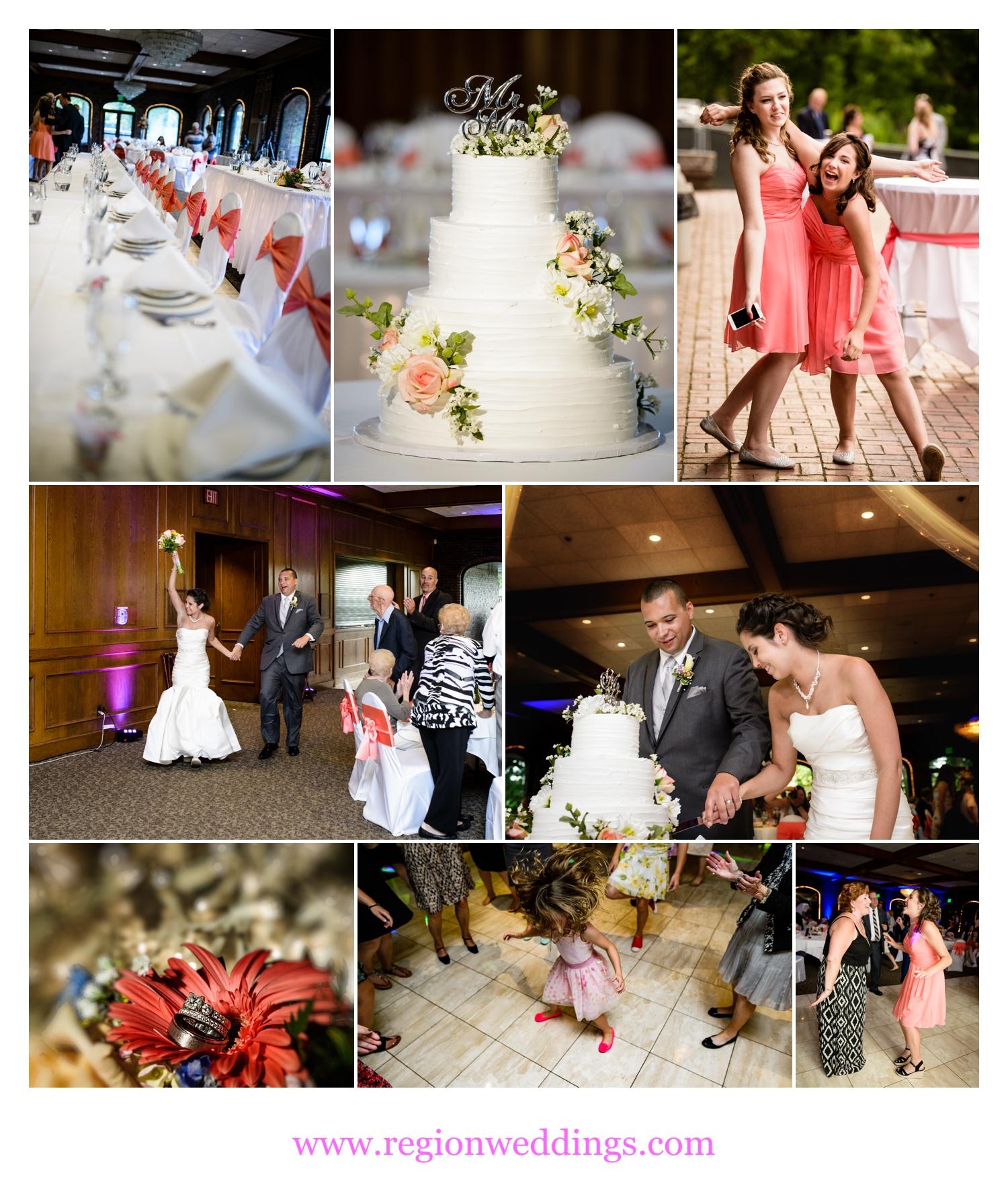 Summer wedding reception at Wicker Park Social Center.