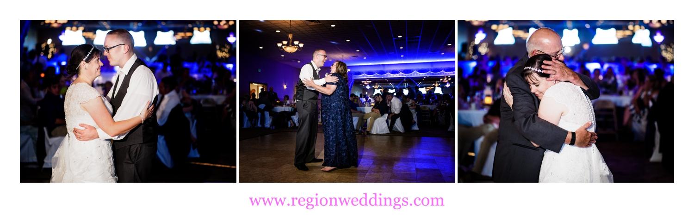 First dances at Andorra Banquet Hall in Schererville, Indiana.