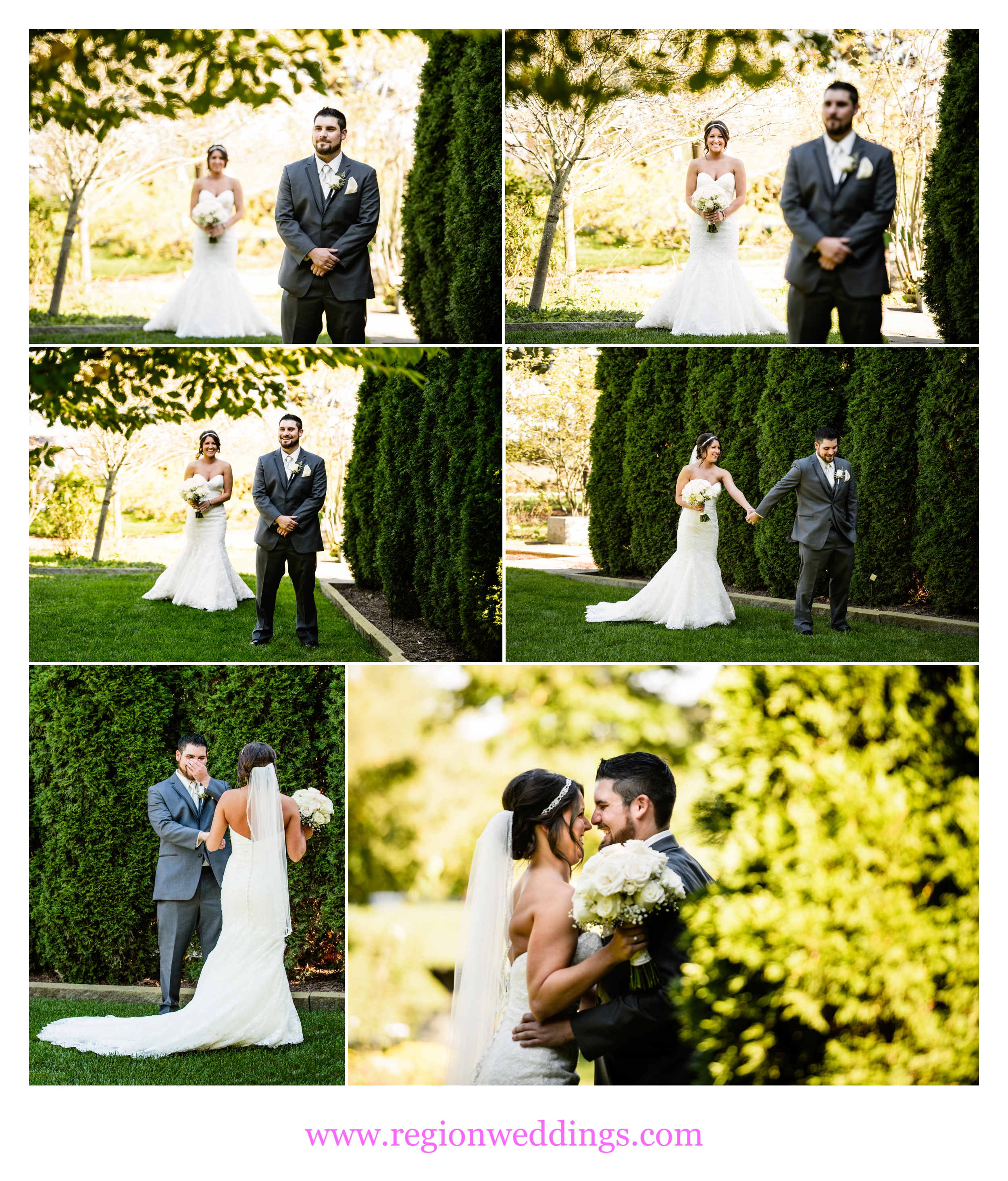 First look / reveal at Taltree Arboretum.