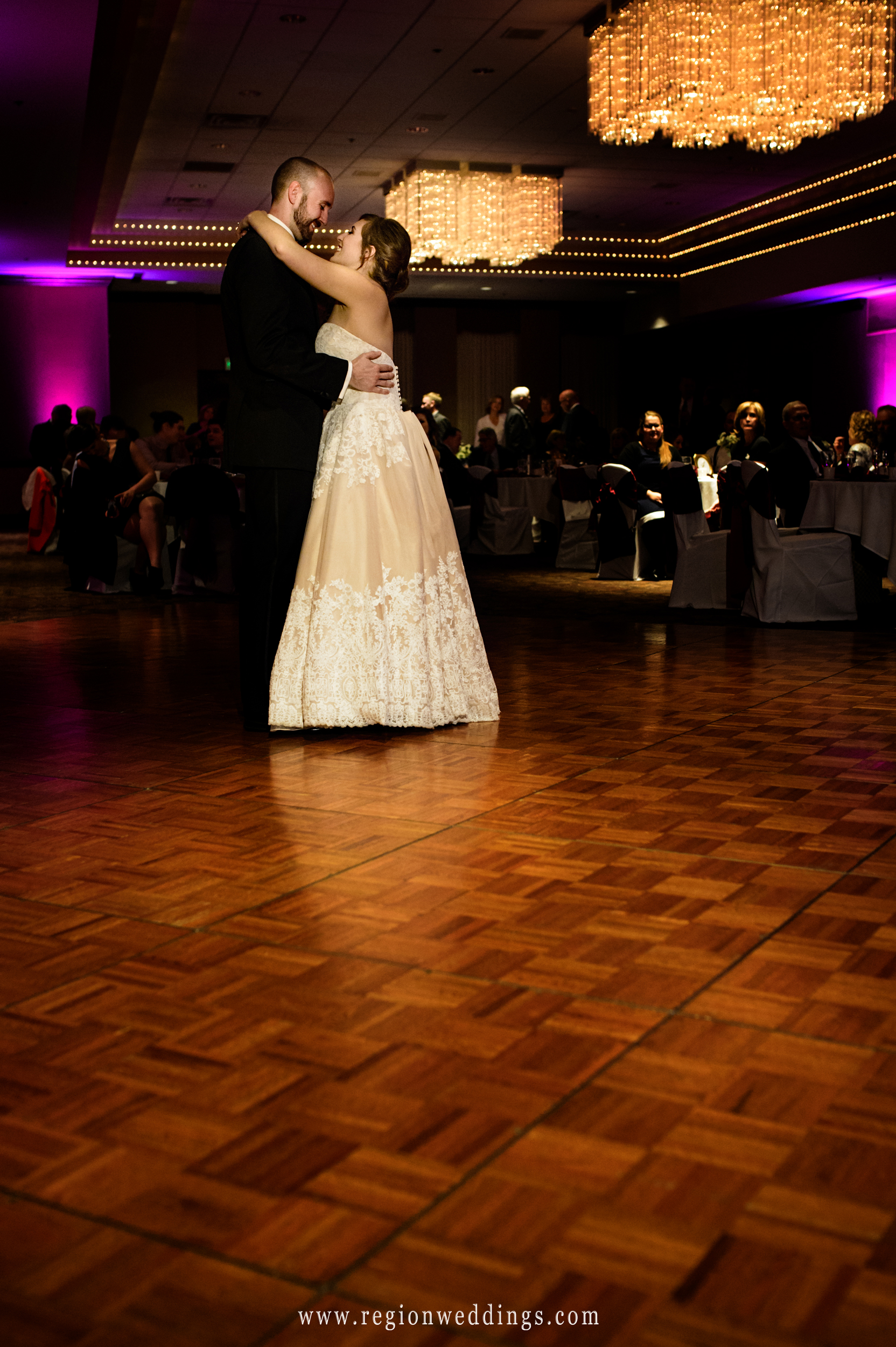 First dance at The Center for Visual and Performing Arts.