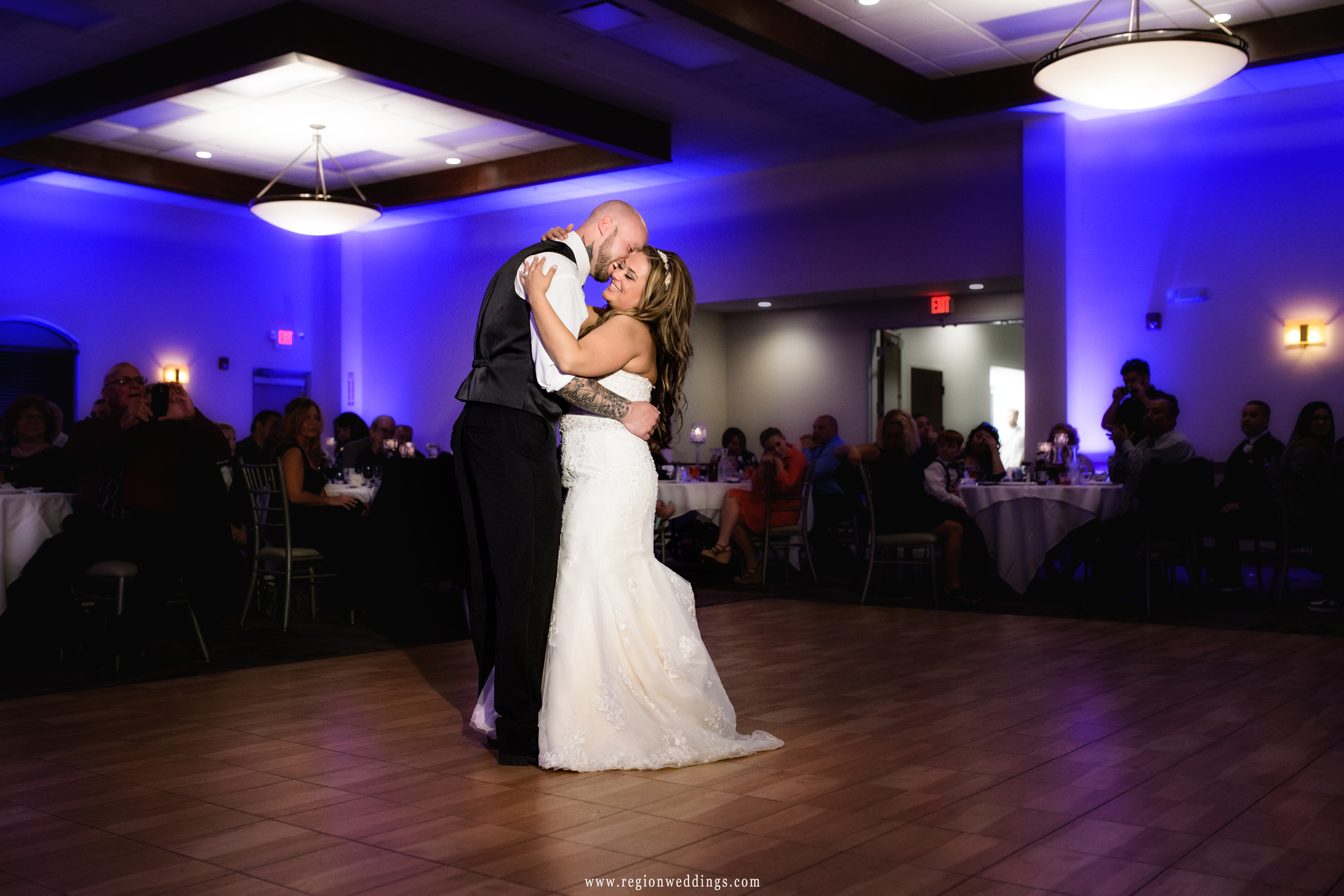 First dance at Signature Banquets.