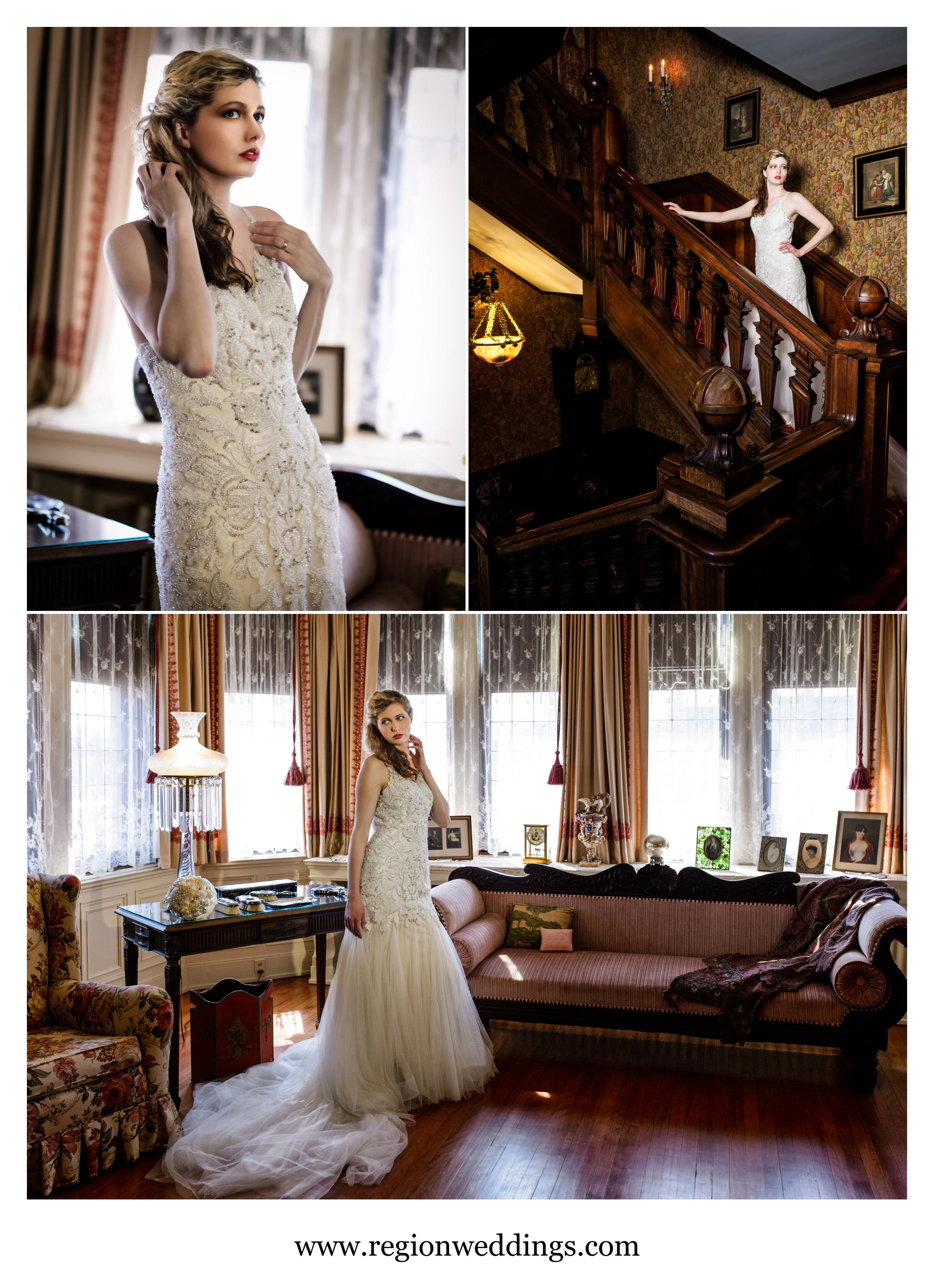 Modern bride meets old world elegance.