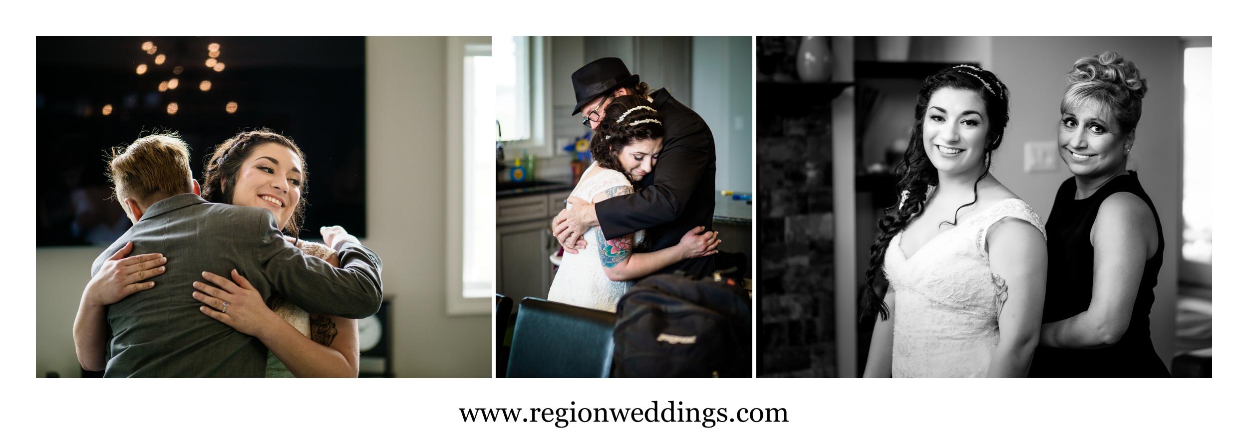 Pre wedding emotions.