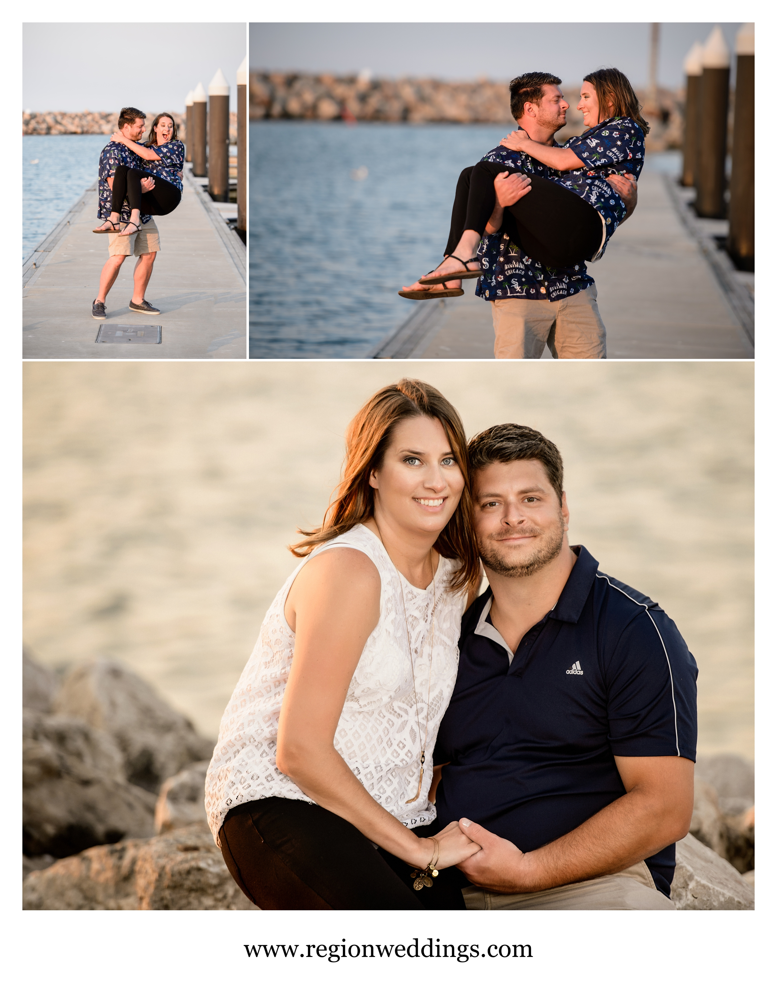 fun-engagement-photos-whiting-lakefront-park.jpg