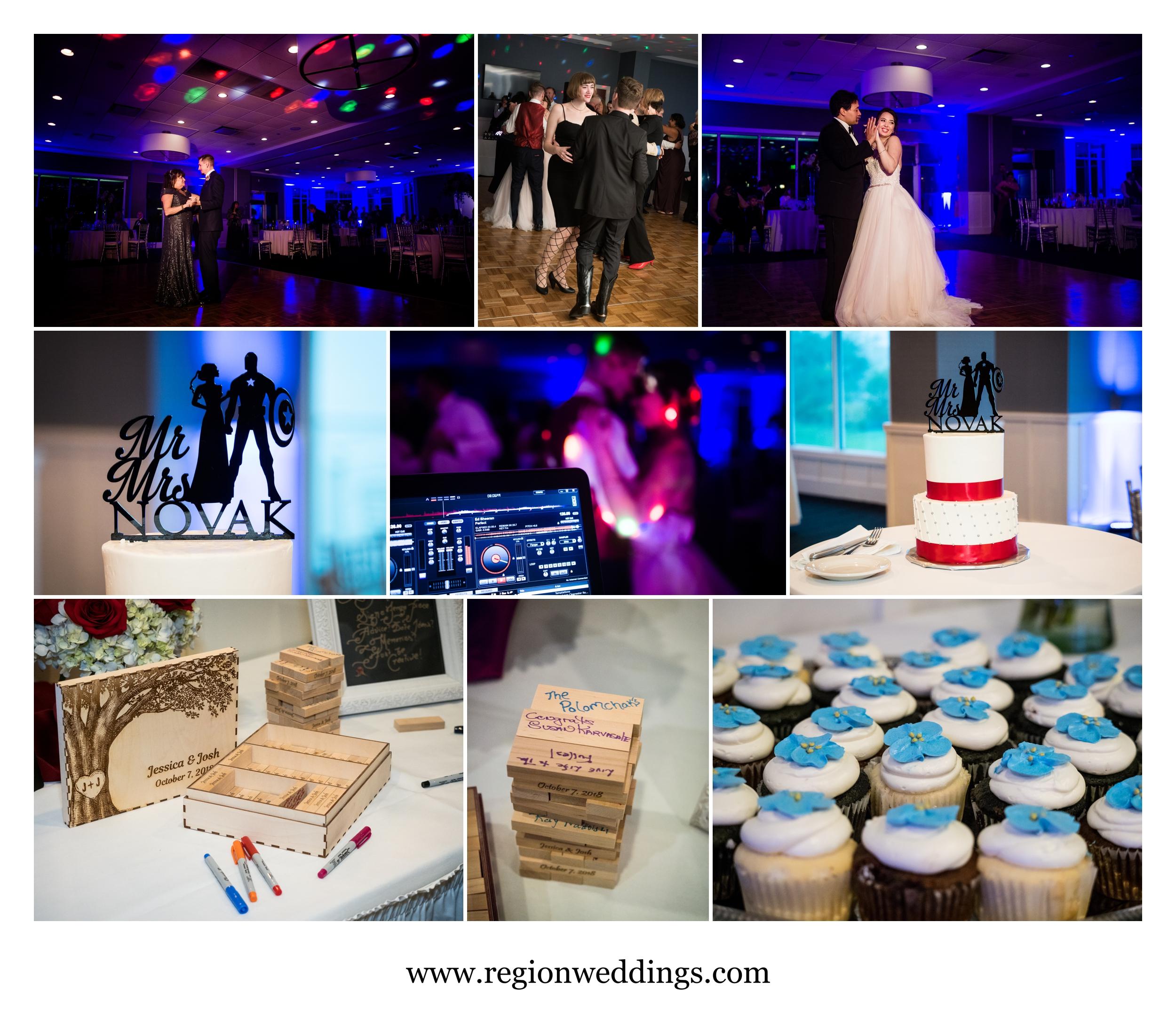 Wedding reception at Lighthouse Restaurant.