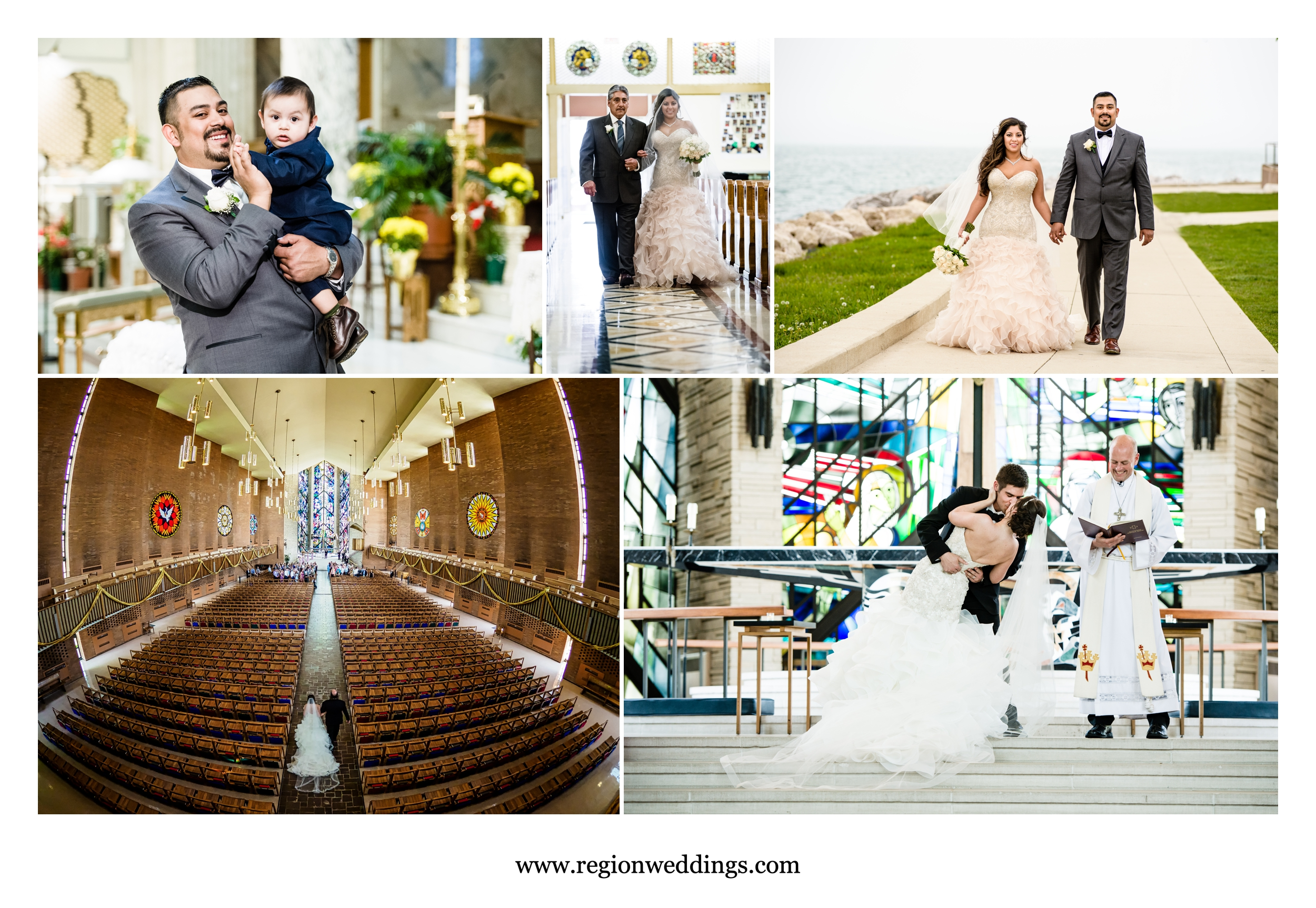 May weddings in Chicago and Northwest Indiana.