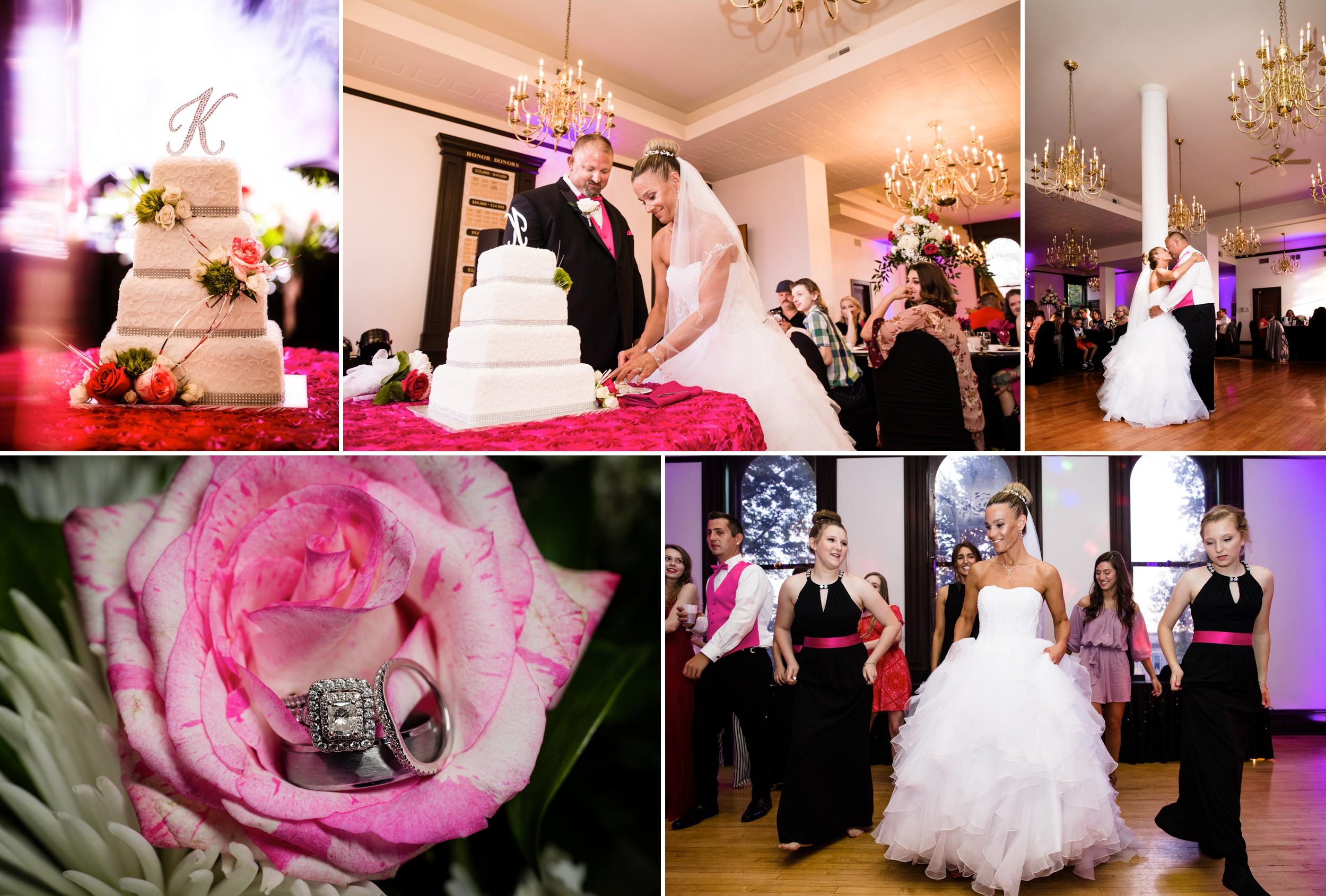 Wedding reception at Maki Ballroom.
