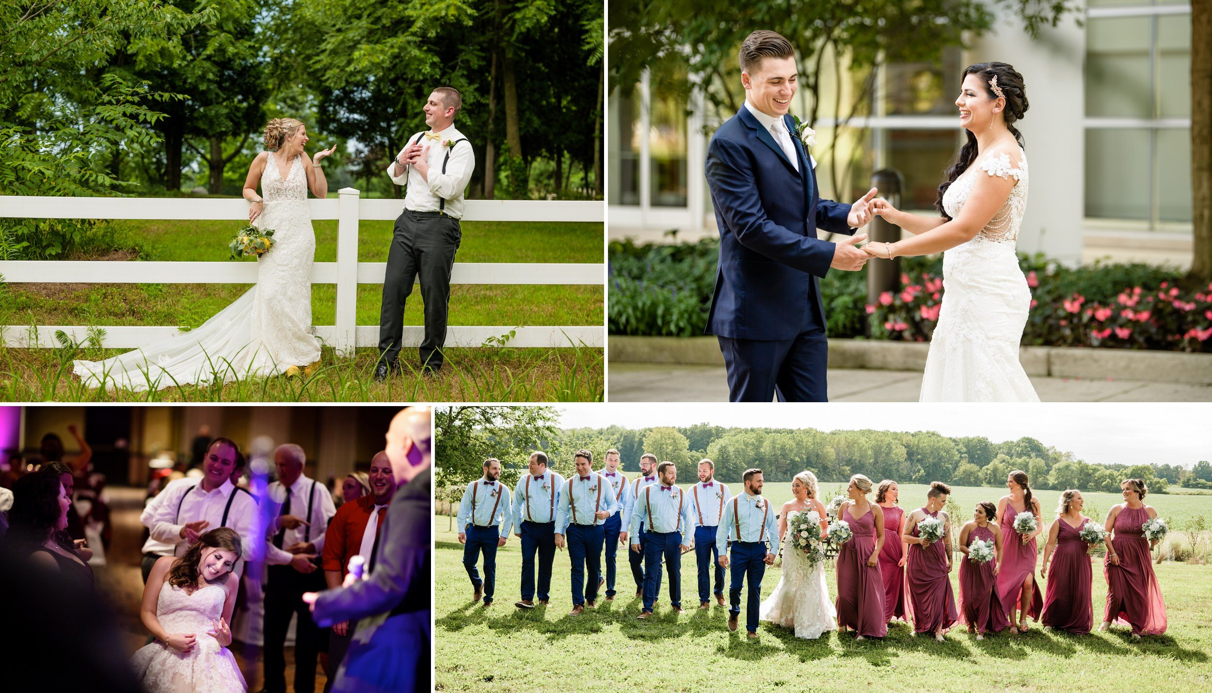 Modern and Candid wedding photography.