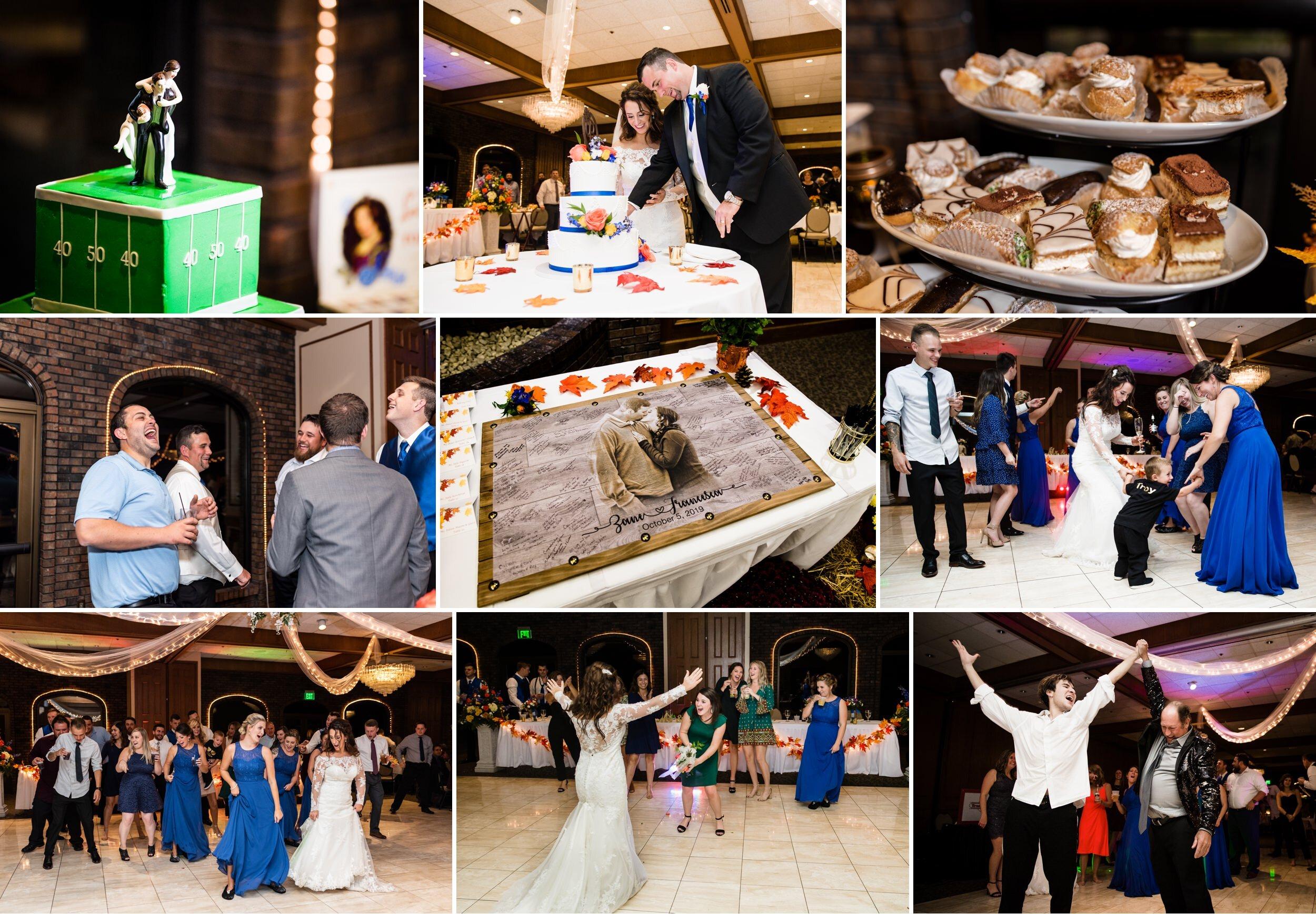 Wedding reception fun at Wicker Park Social Center.