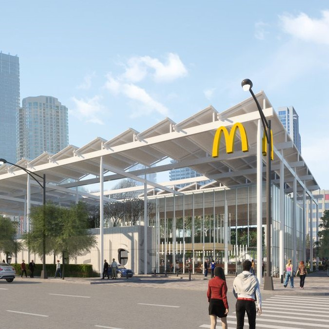 McDONALD's, proposed Chicago Ross Barney Architects