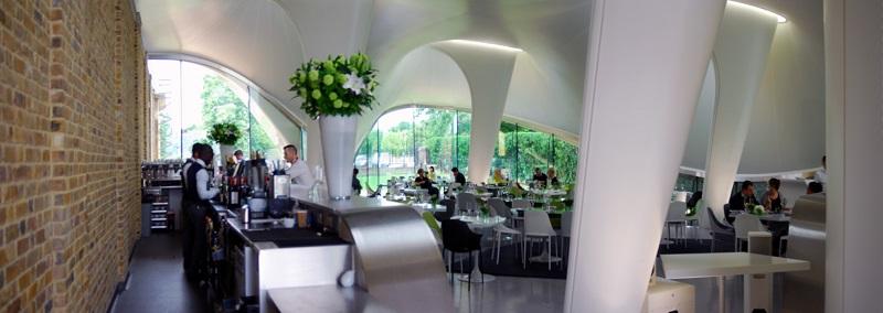 Magazine Restaurant, London, by Zaha Hadid Architects. Photo © Anthony Denzer