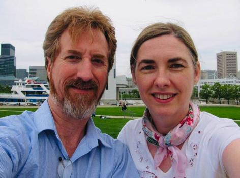 Steve Clark and Annette Ellard