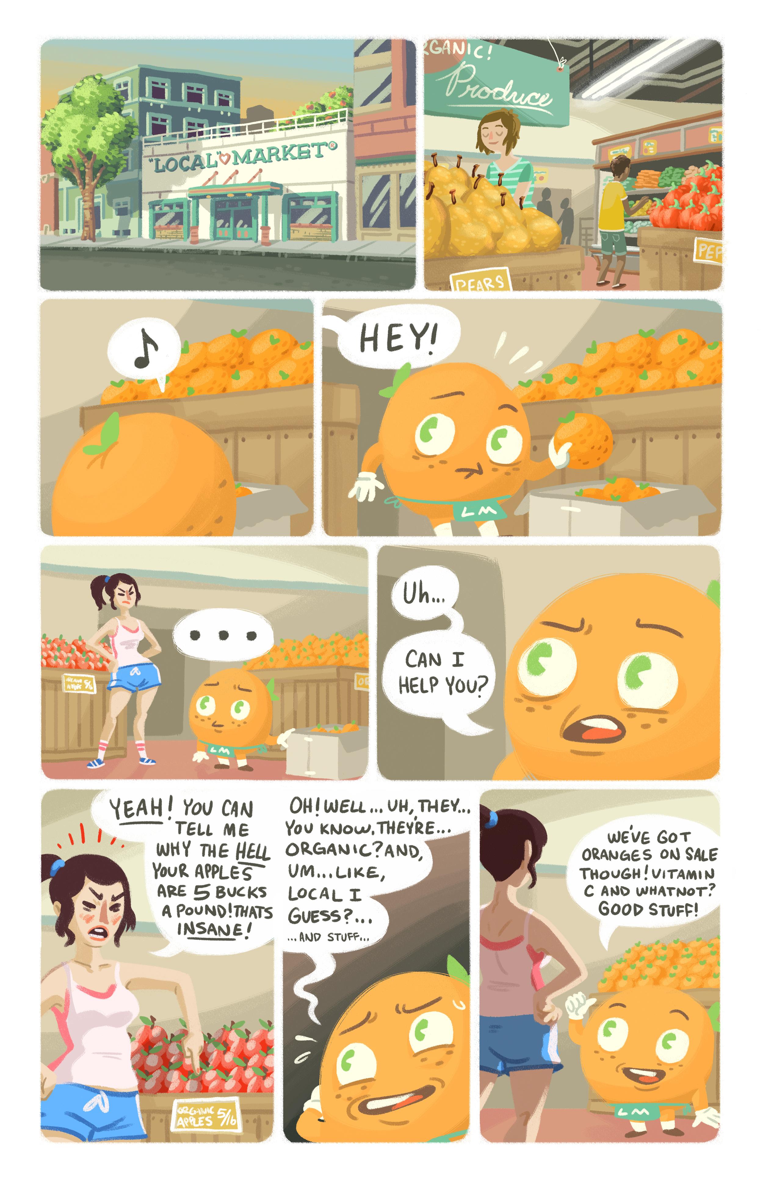 Oswald the Orange