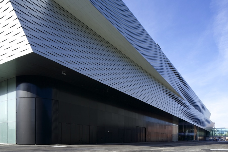 The new facility at BaselWorld.