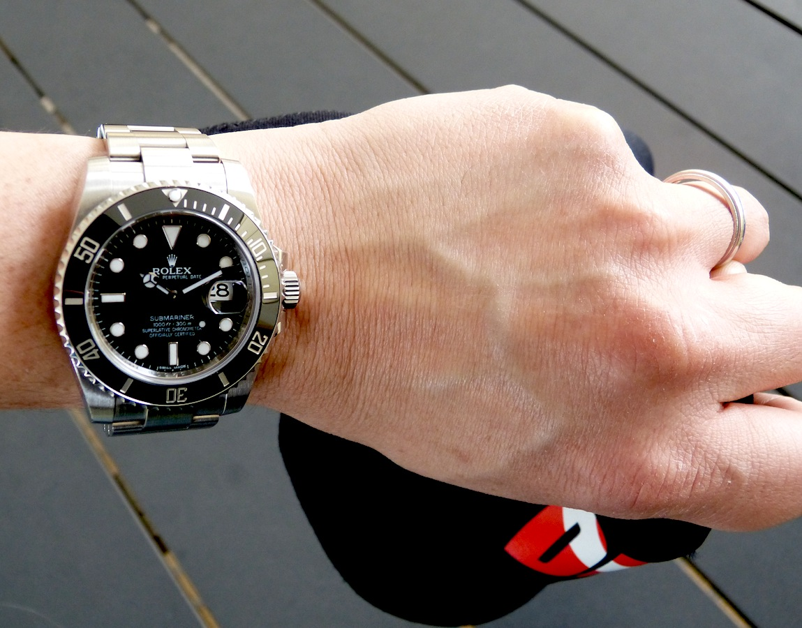 Insider Rolex Submariner Date ref. 116610LN. The Black