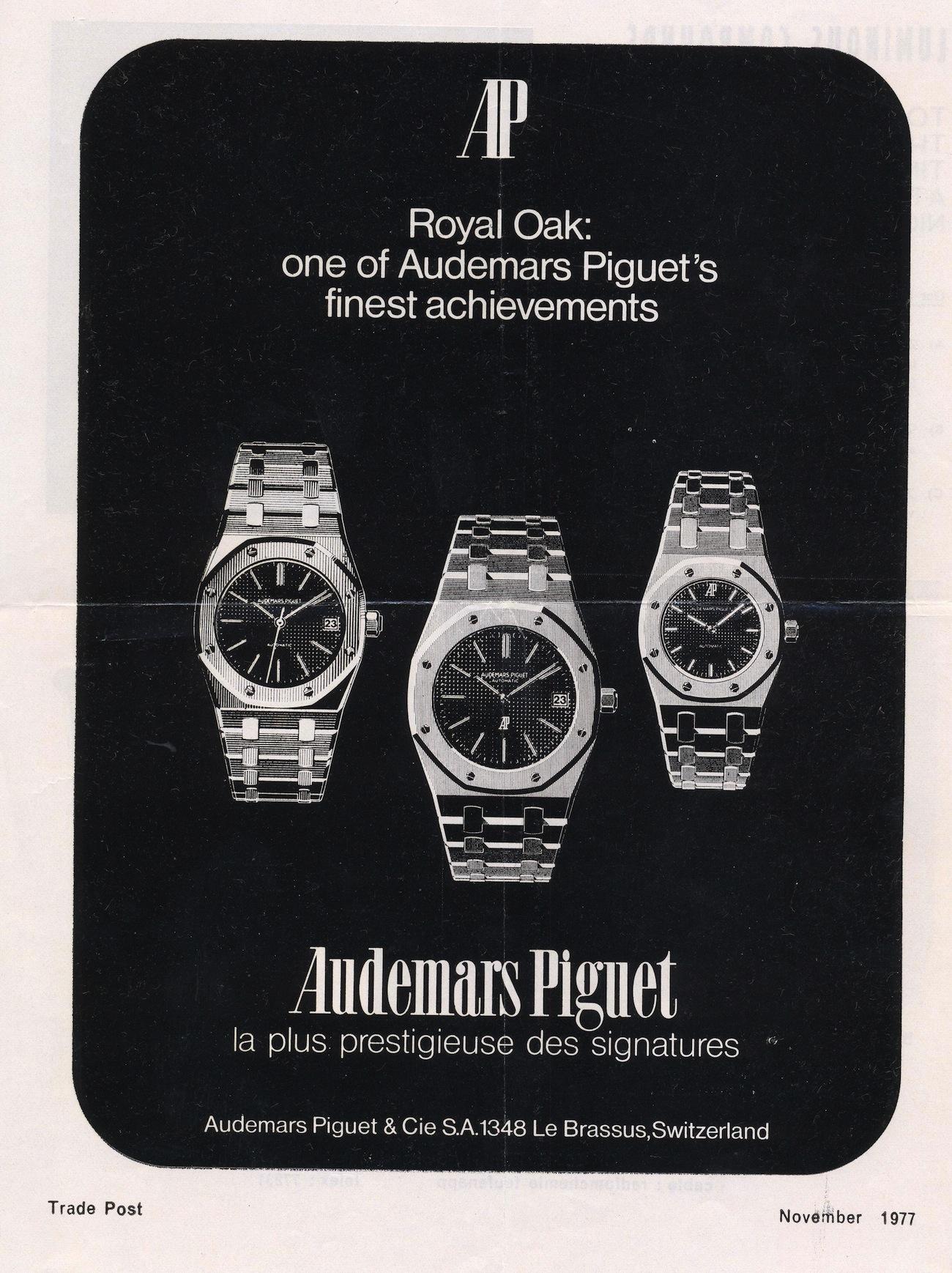 Royal Oak Advertisement circa 1977.