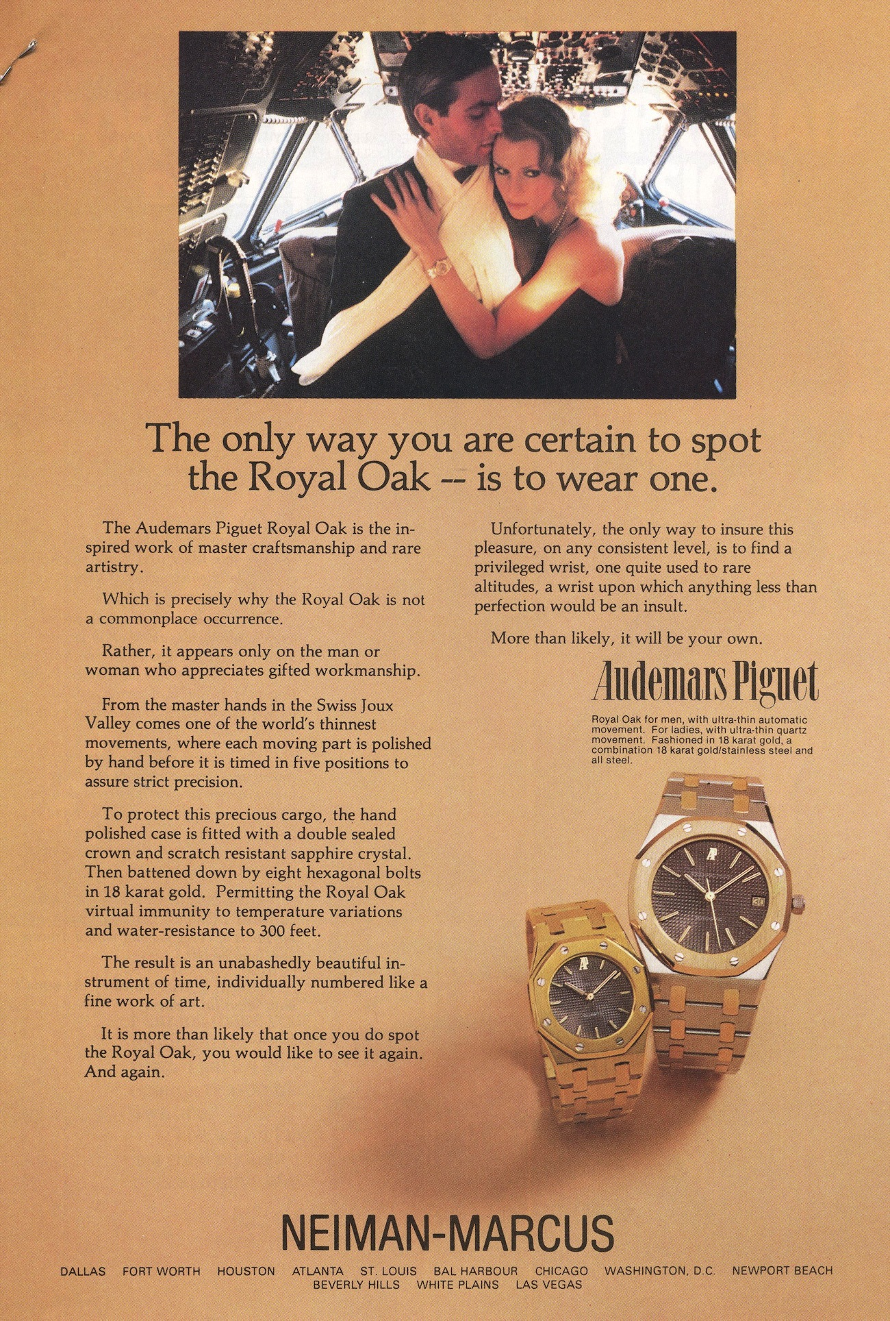 Royal Oak Advertisement circa 1981.