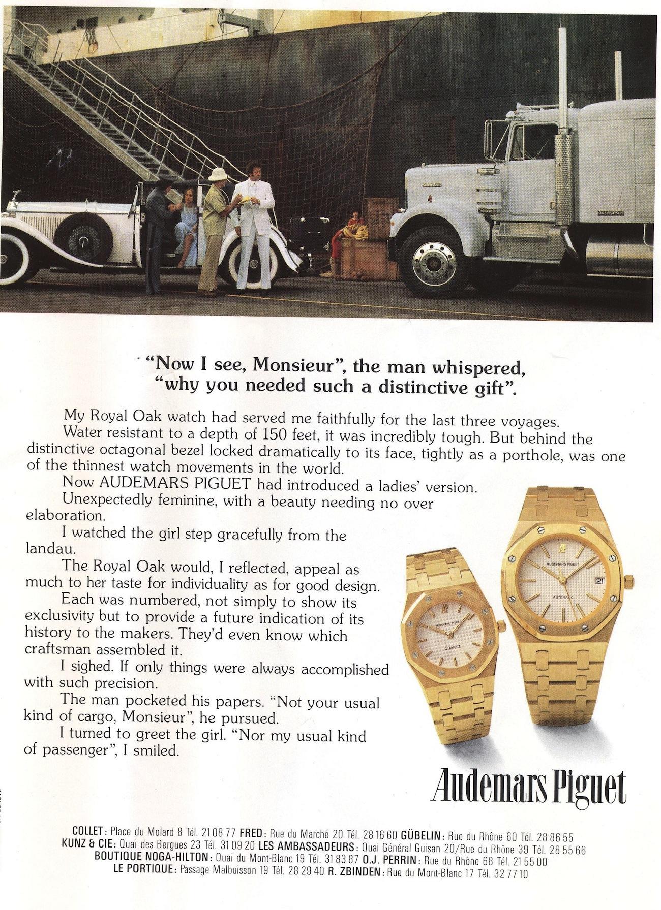 Royal Oak Advertisement circa 1982.