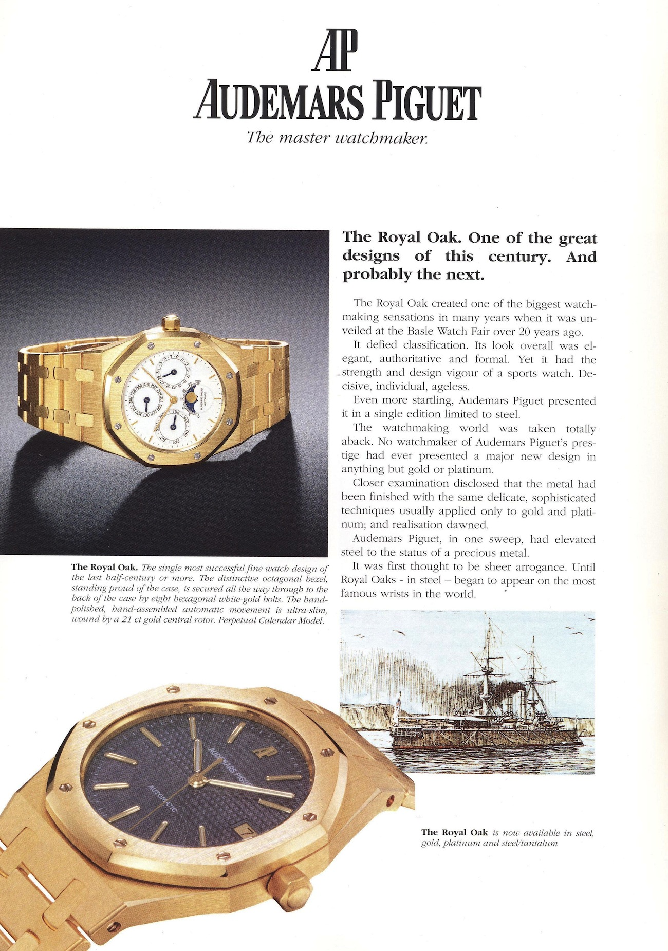 Royal Oak Advertisement circa 1992.