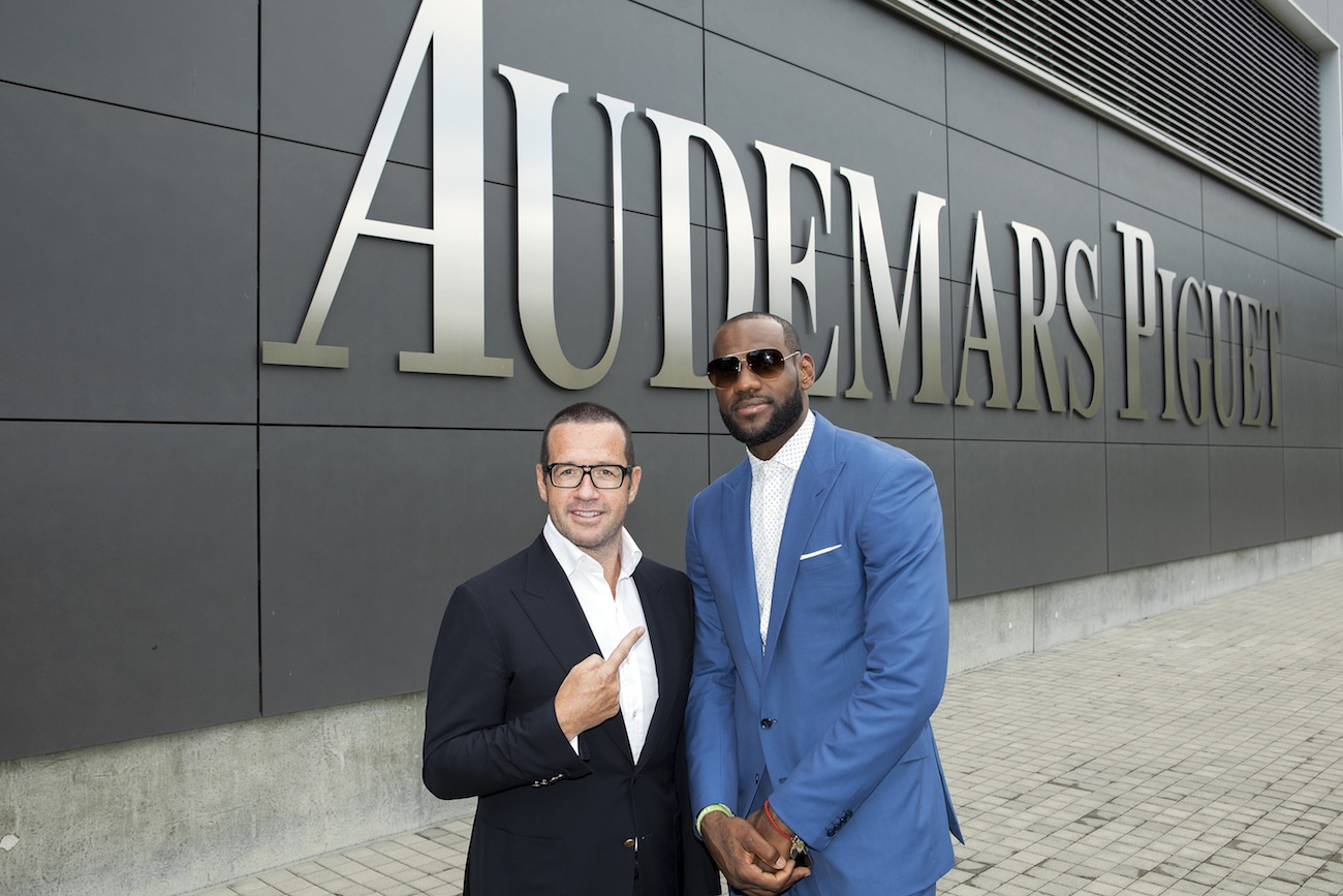 Franacois-Henry Bennahmias & LeBron James_Original.jpg