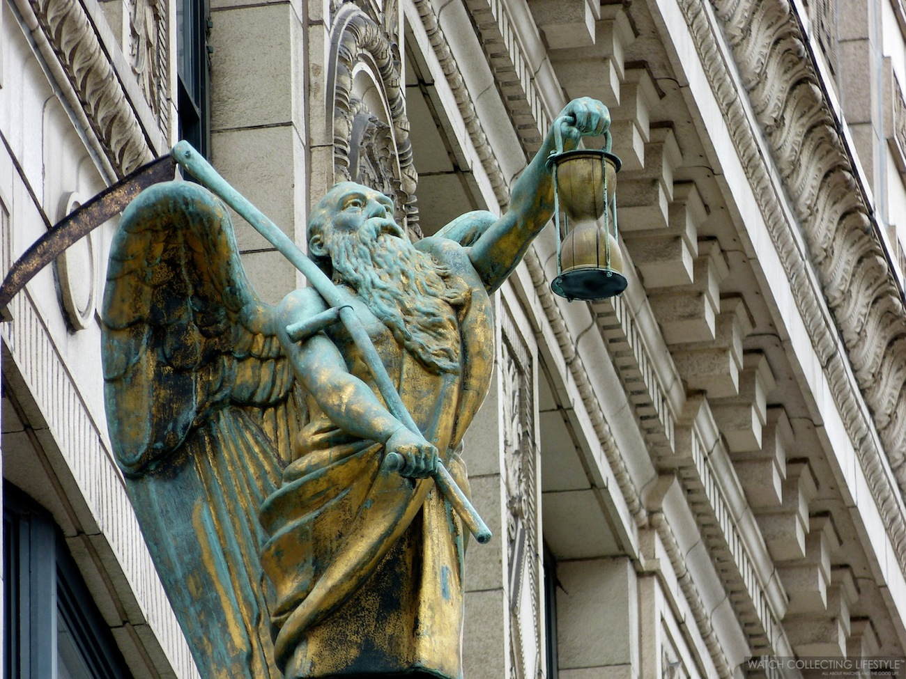 Experience: Chicago's Father Time Clock at The Jewelers
