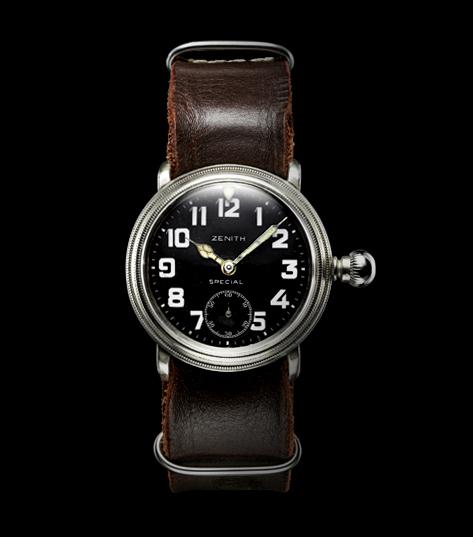 Louis Blériot's Zenith Watch. Image: Zenith Watches Website.