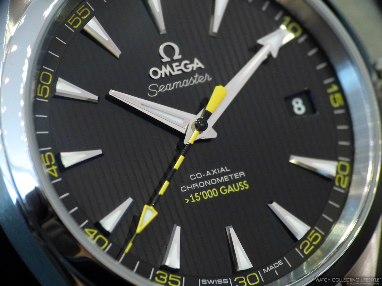 Insider Omega Seamaster Aqua Terra 15 000 Gauss A Truly Anti Magnetic Watch With A Display Case Back Watch Collecting Lifestyle