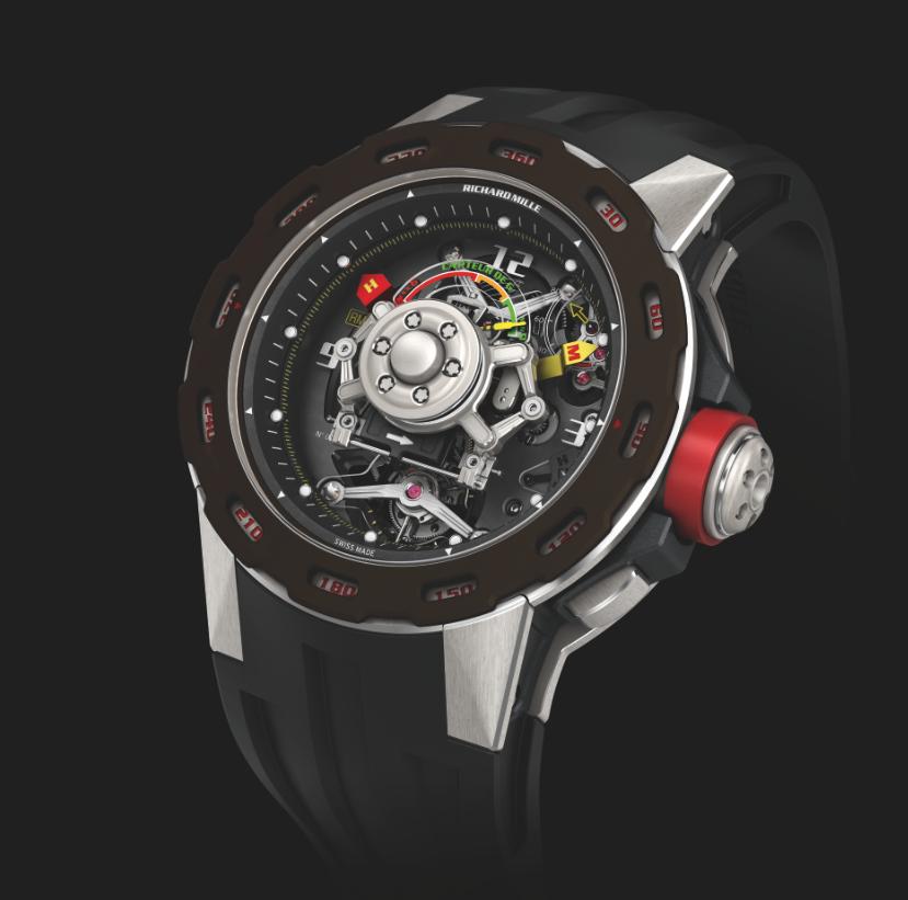 Richard Mille RM 36-01 Competition G Sensor Sebastien Loeb. Limited Edition 30 Pieces. Sticker Price $655,000 USD.