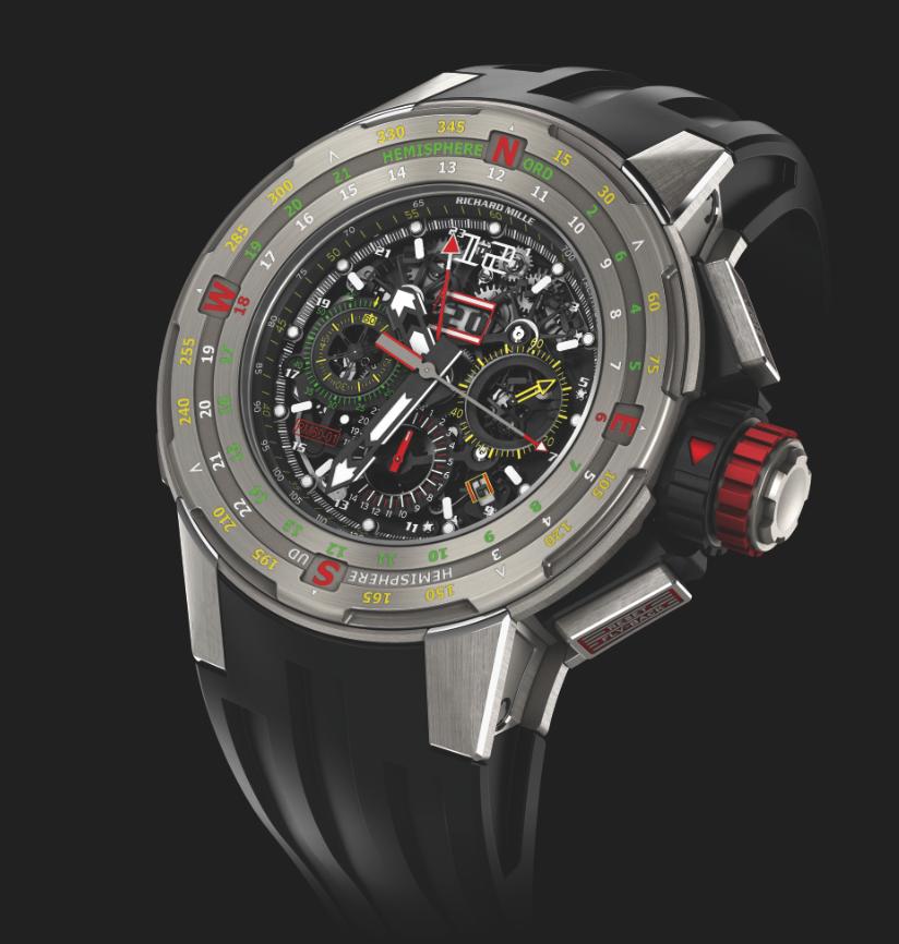 Richard Mille RM 61-01 Flyback Chronograph Regatta. Sticker Price $155,000 USD.