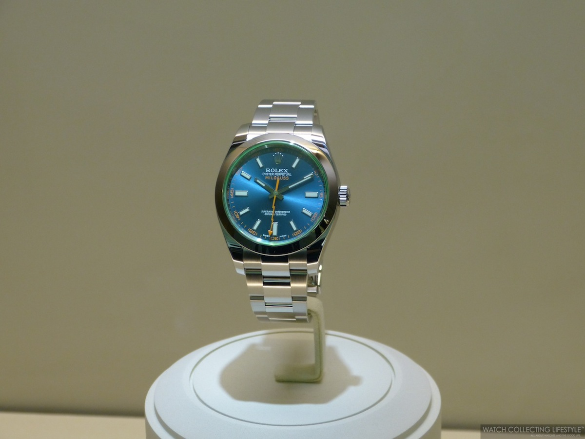 Baselworld 2014 Introducing the New Rolex Milgauss Z Blue