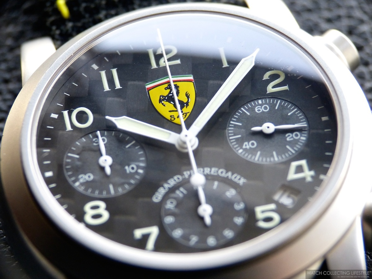 Rare Bird Girard Perregaux Ferrari Chronograph Ref 8020 An Iconic Watch From The 90s Watch Collecting Lifestyle